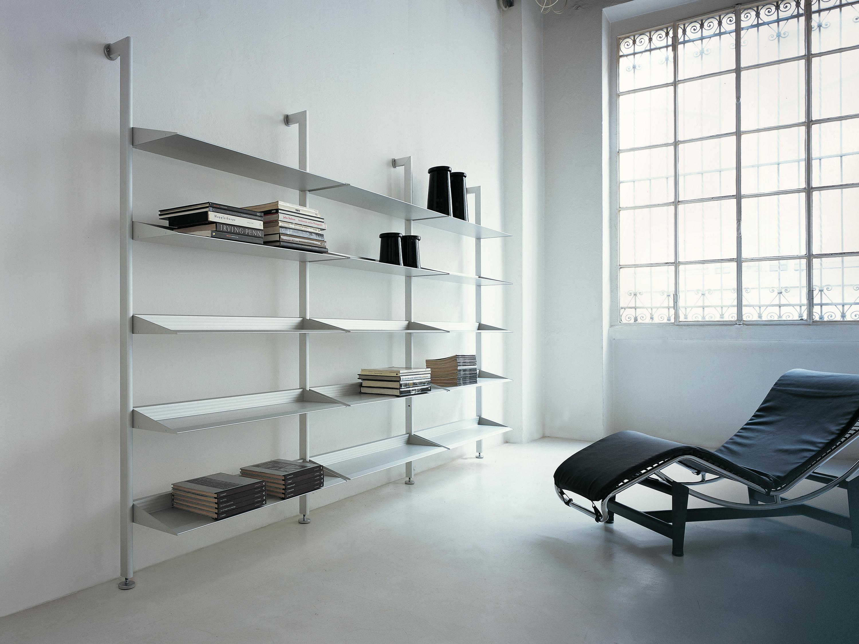 Scaffali Per Libri Design.Epomeo Mensole In Alluminio Scaffali Aico Design Architonic