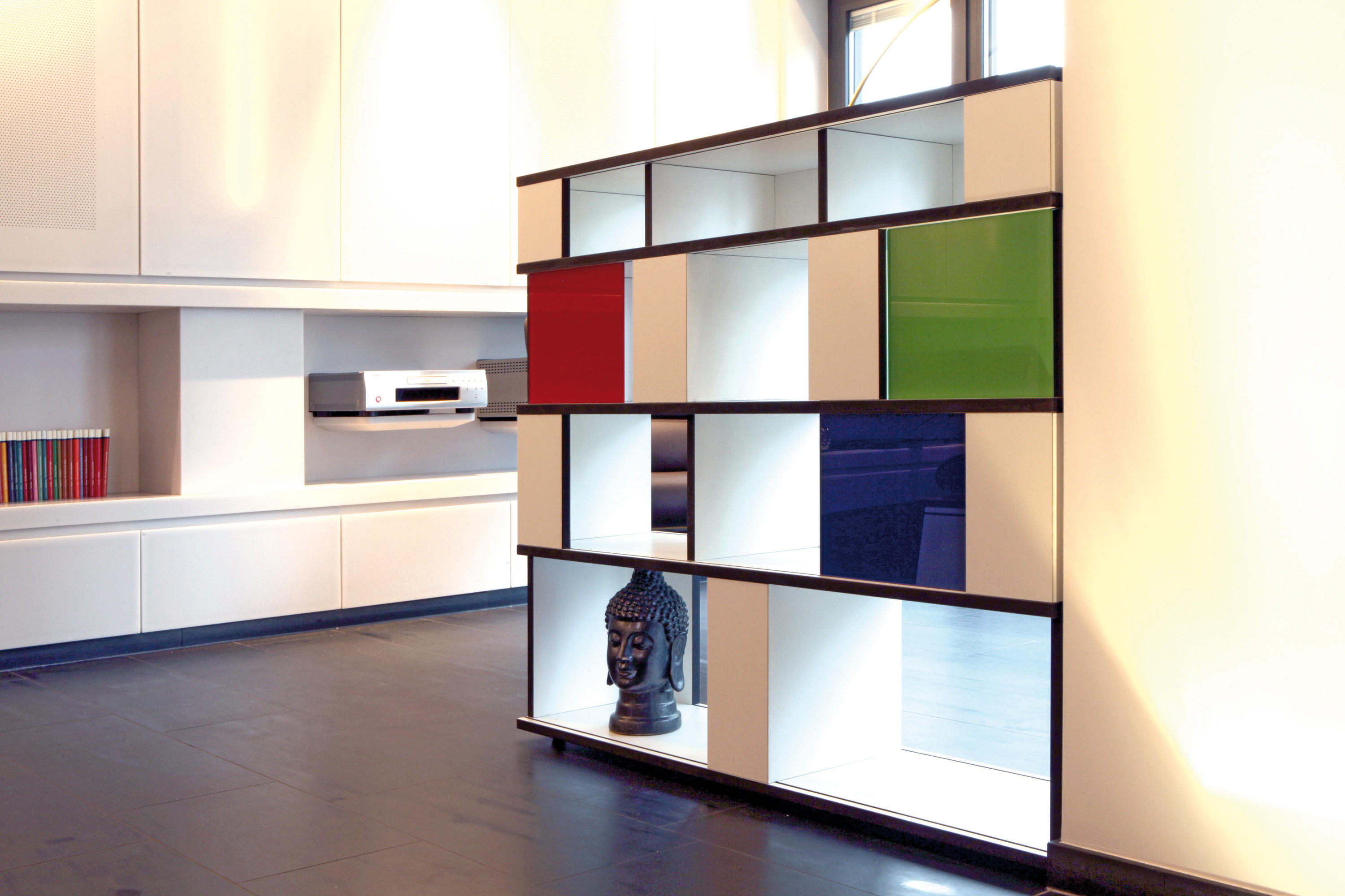 unicatum shelving systems from anb art design architonic. Black Bedroom Furniture Sets. Home Design Ideas
