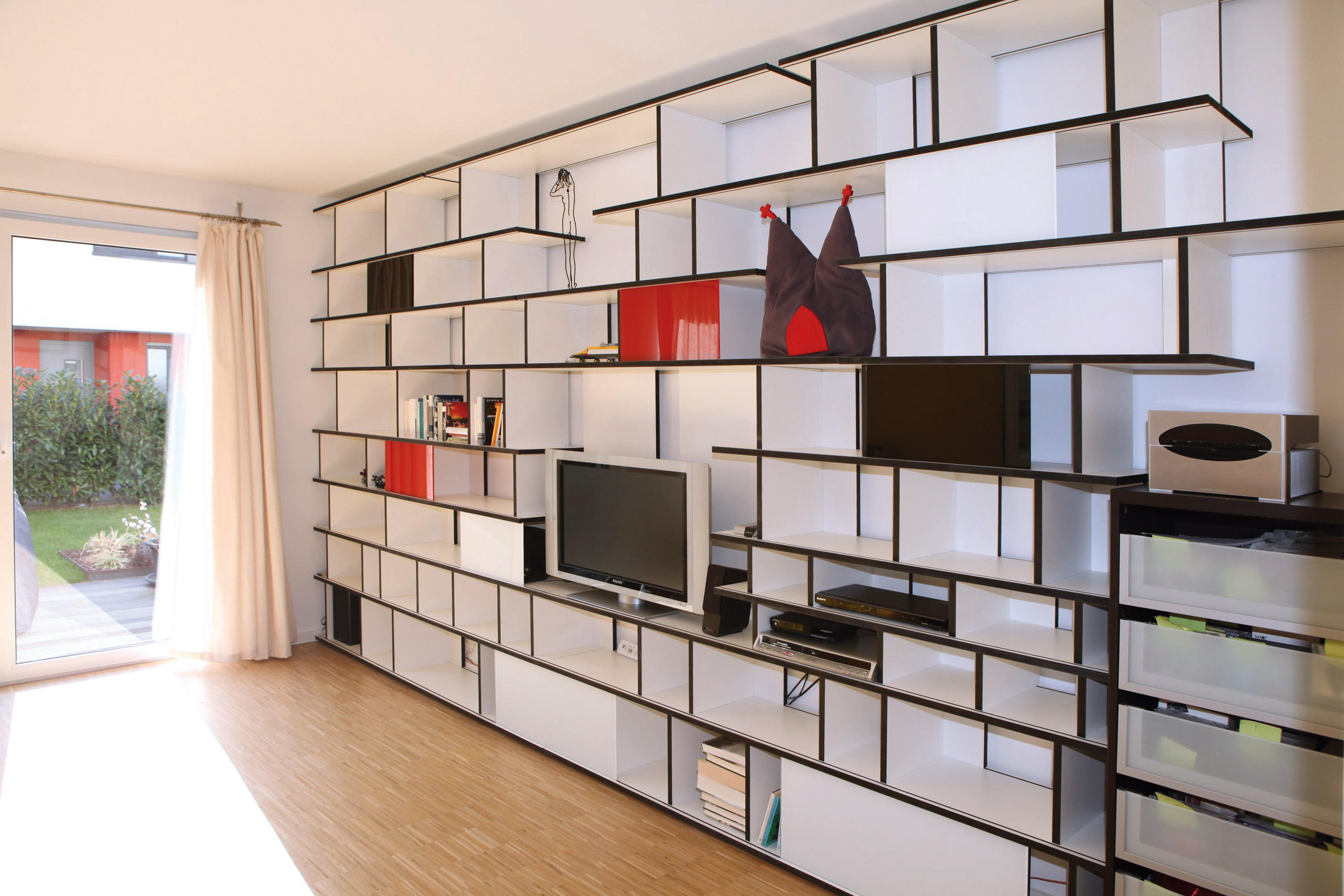 Unicatum room dividers from anb art design architonic for Schrank wand