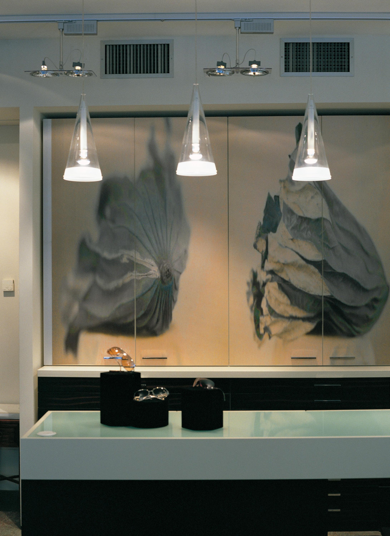 Hand Blown Glass Ceiling Light
