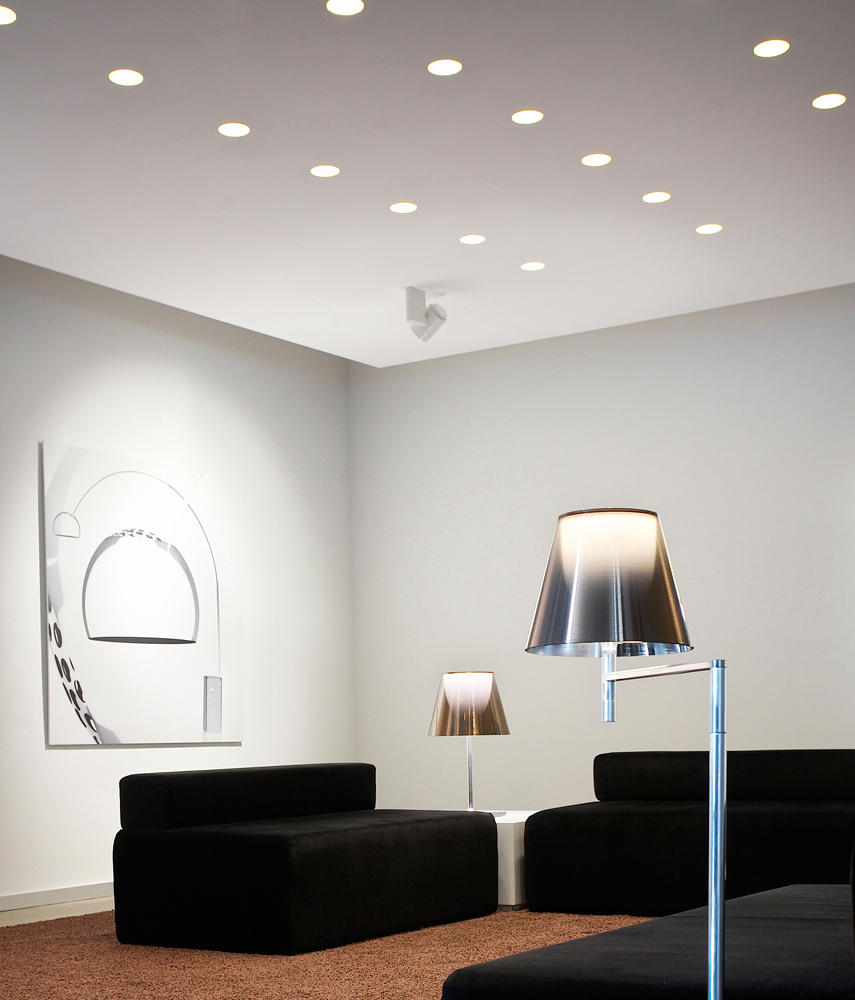 easy kap 105 fixed hi par 51 recessed ceiling lights from flos