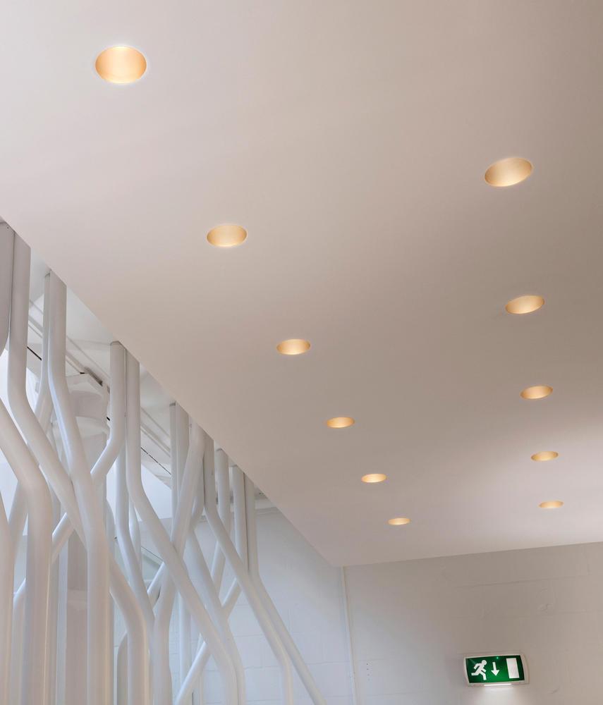 Easy kap 105 fixed hi par 51 illuminazione generale flos for Faretti flos