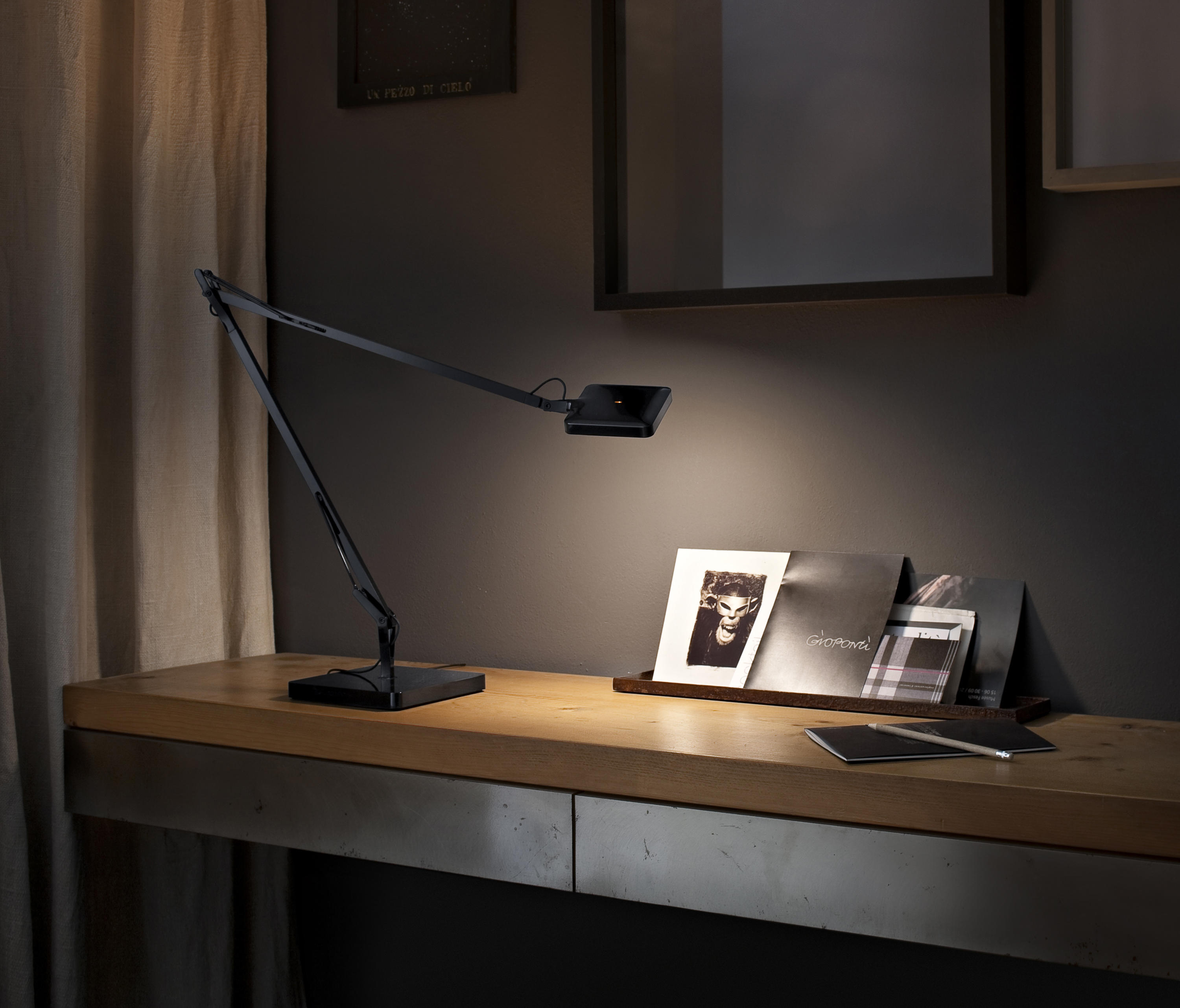 kelvin led base general lighting from flos architonic. Black Bedroom Furniture Sets. Home Design Ideas