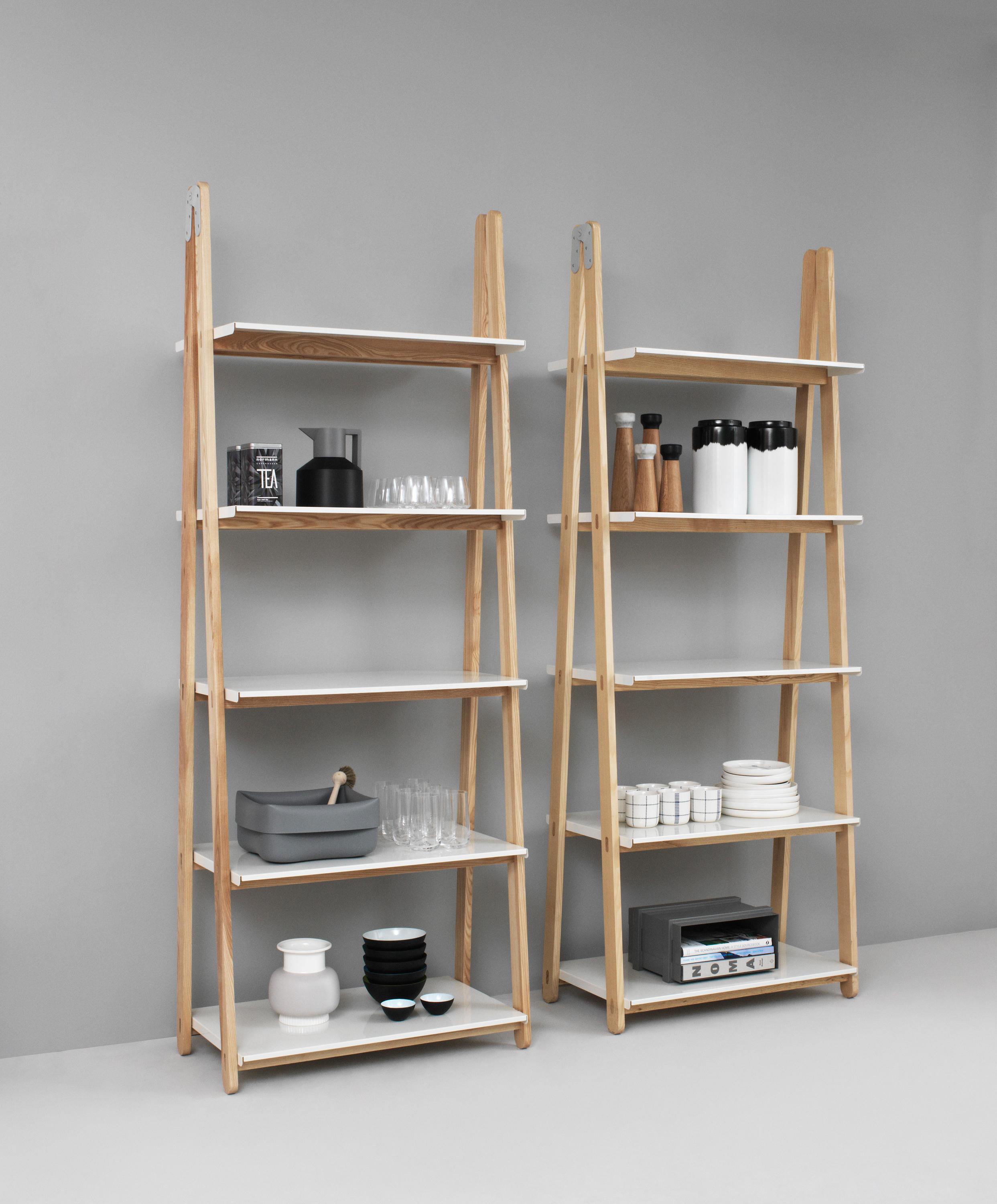 ONE STEP UP LOW - Shelving from Normann Copenhagen ...
