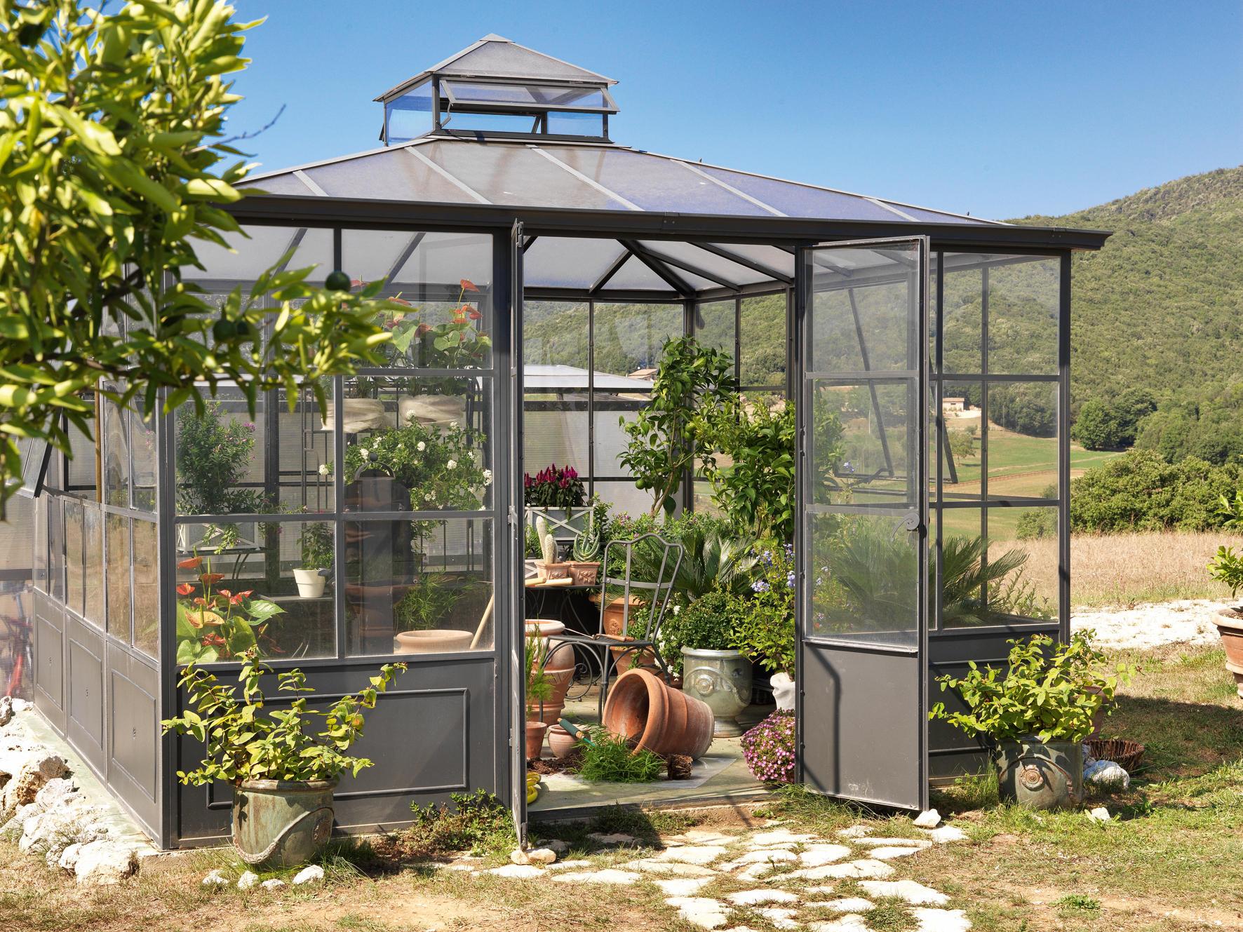 aralia greenhouse pavillons de jardin de unopi architonic. Black Bedroom Furniture Sets. Home Design Ideas