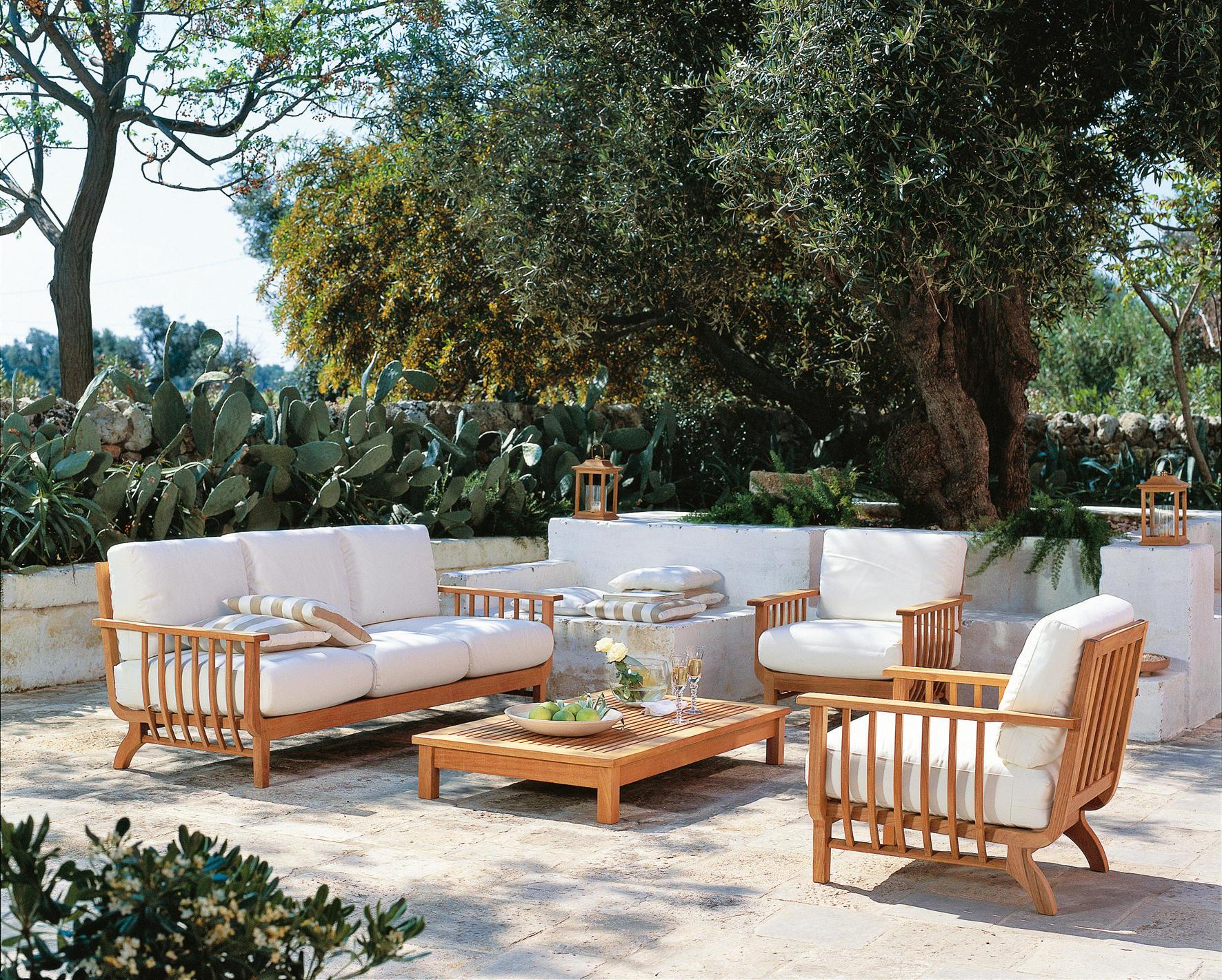 Beautiful Salon De Jardin En Teck Unopiu Photos Awesome Interior  # Salon De Jardin Unopiu Pas Cher