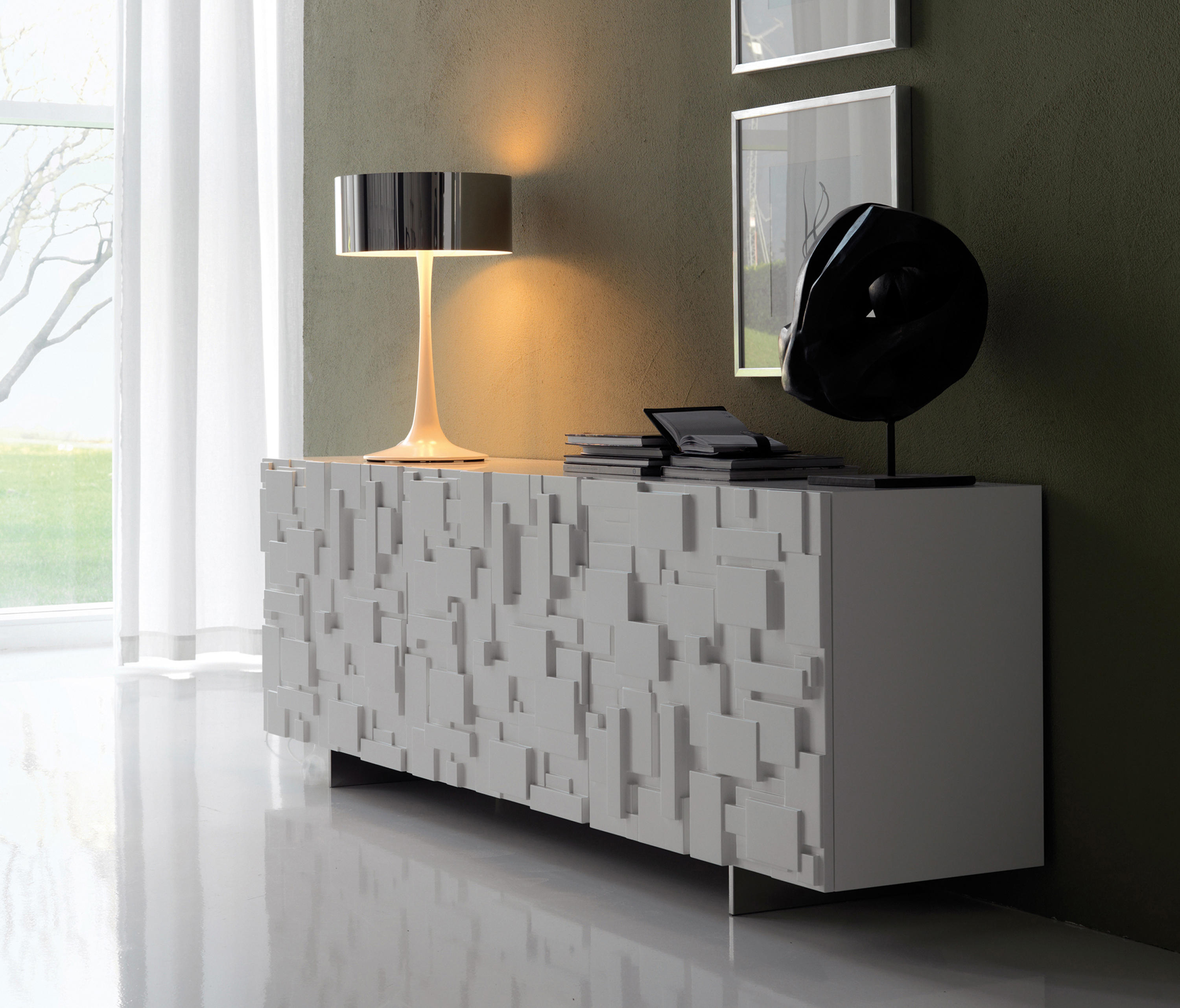 Labyrinth sideboards from cattelan italia architonic for Sideboard regal