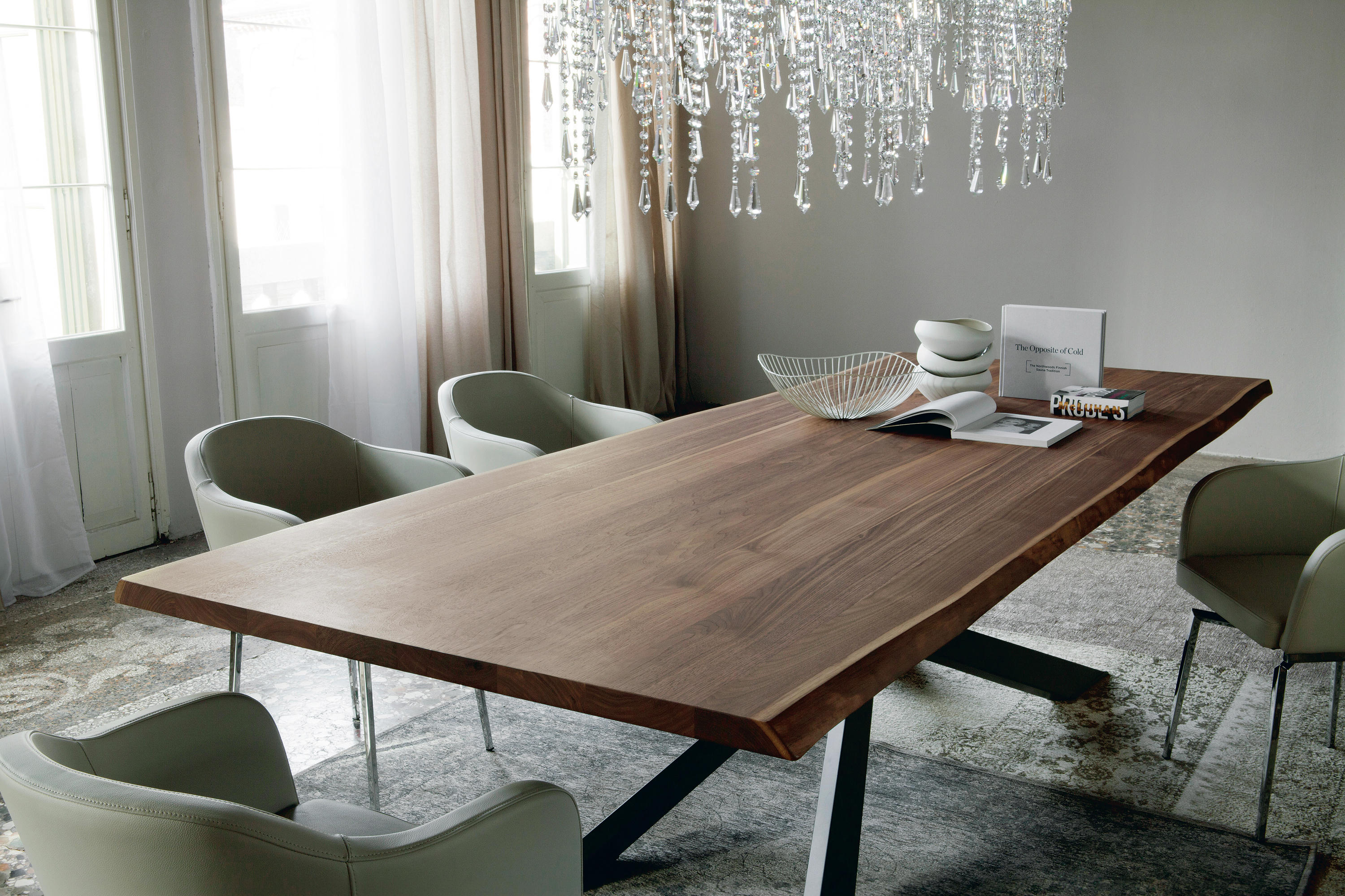 Spyder wood dining tables from cattelan italia architonic - Table a manger contemporaine ...