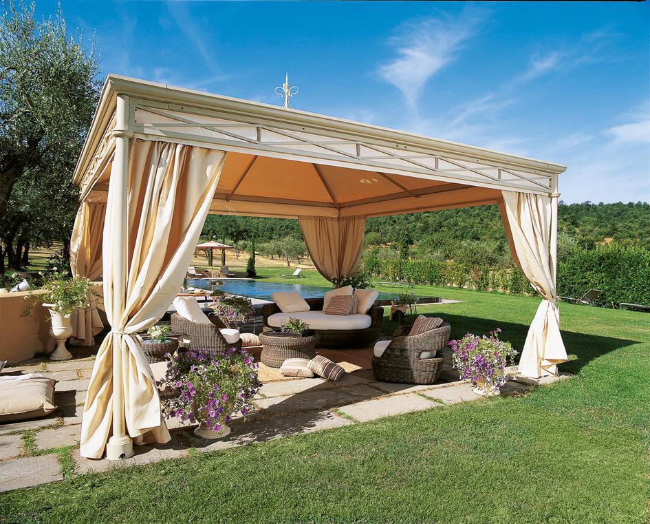 Elsinore pavilion gazebos from unopi architonic for Ballard progetta mobili da giardino