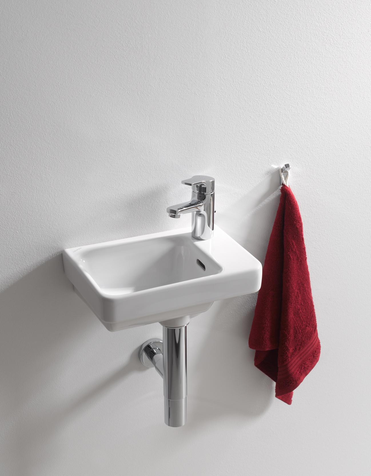 laufen pro s small washbasin asymmetric wash basins from laufen architonic. Black Bedroom Furniture Sets. Home Design Ideas