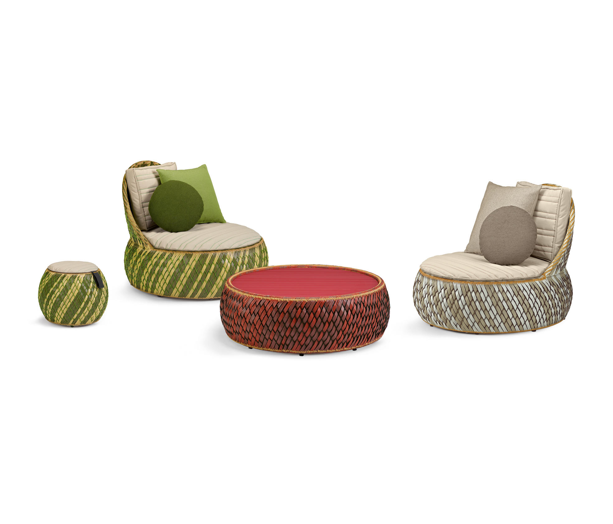 Dala Lounge Chair Armchairs From Dedon Architonic