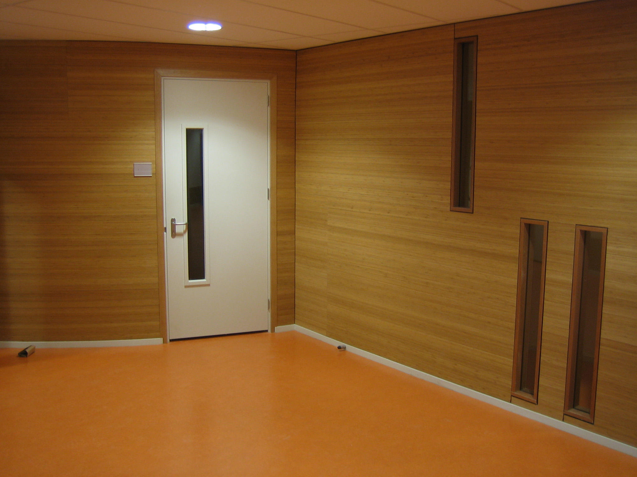 Bamboo On A Roll Wall Panels From Moso Bamboo Products