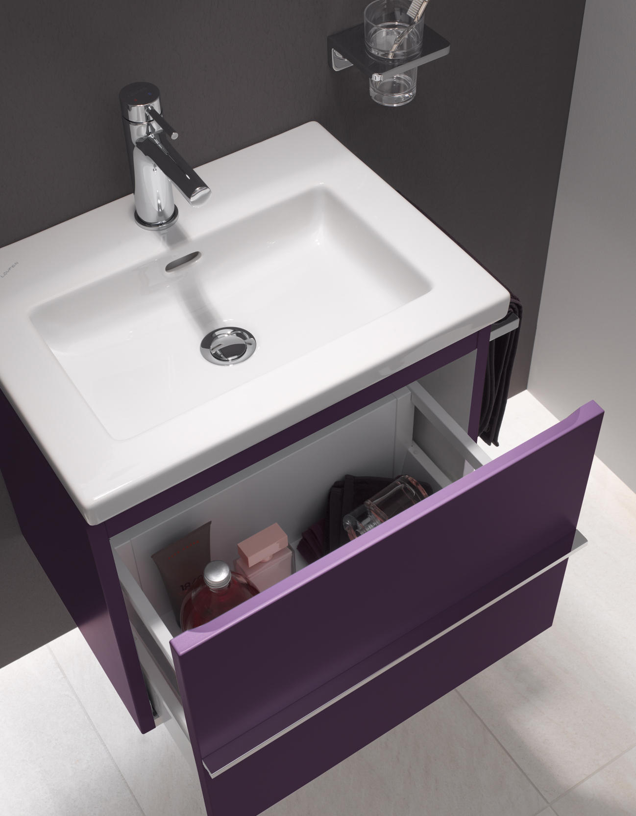 laufen pro s vanity unit vanity units from laufen architonic. Black Bedroom Furniture Sets. Home Design Ideas