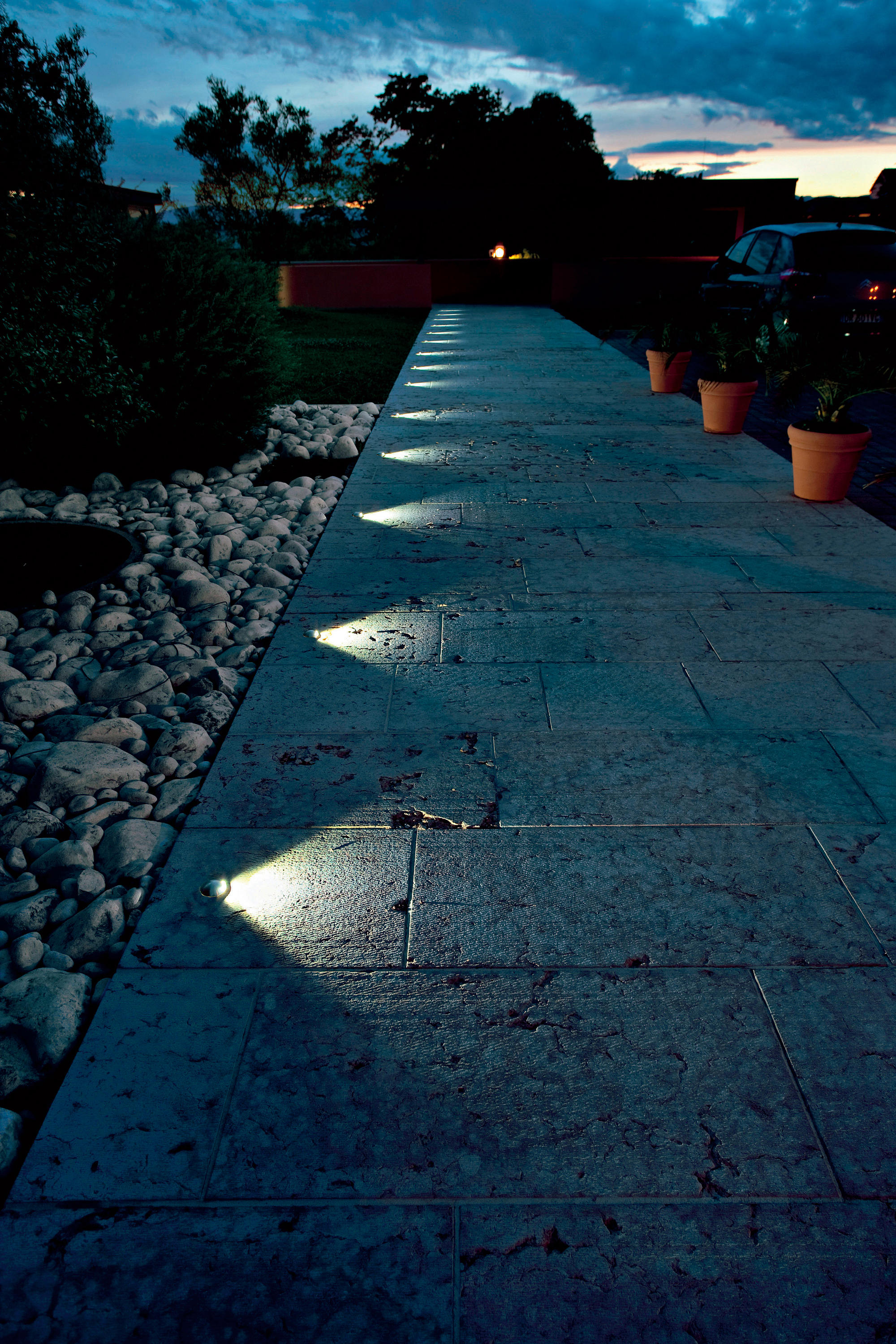 Beam Outdoor Recessed Wall Lights From L Amp L Luce Amp Light
