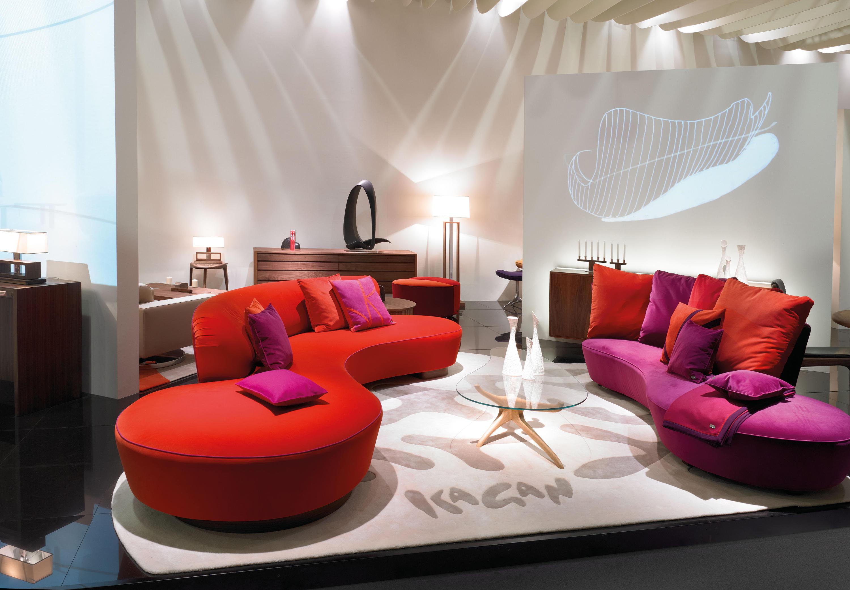 SERPENTINE Lounge sofas from Vladimir Kagan