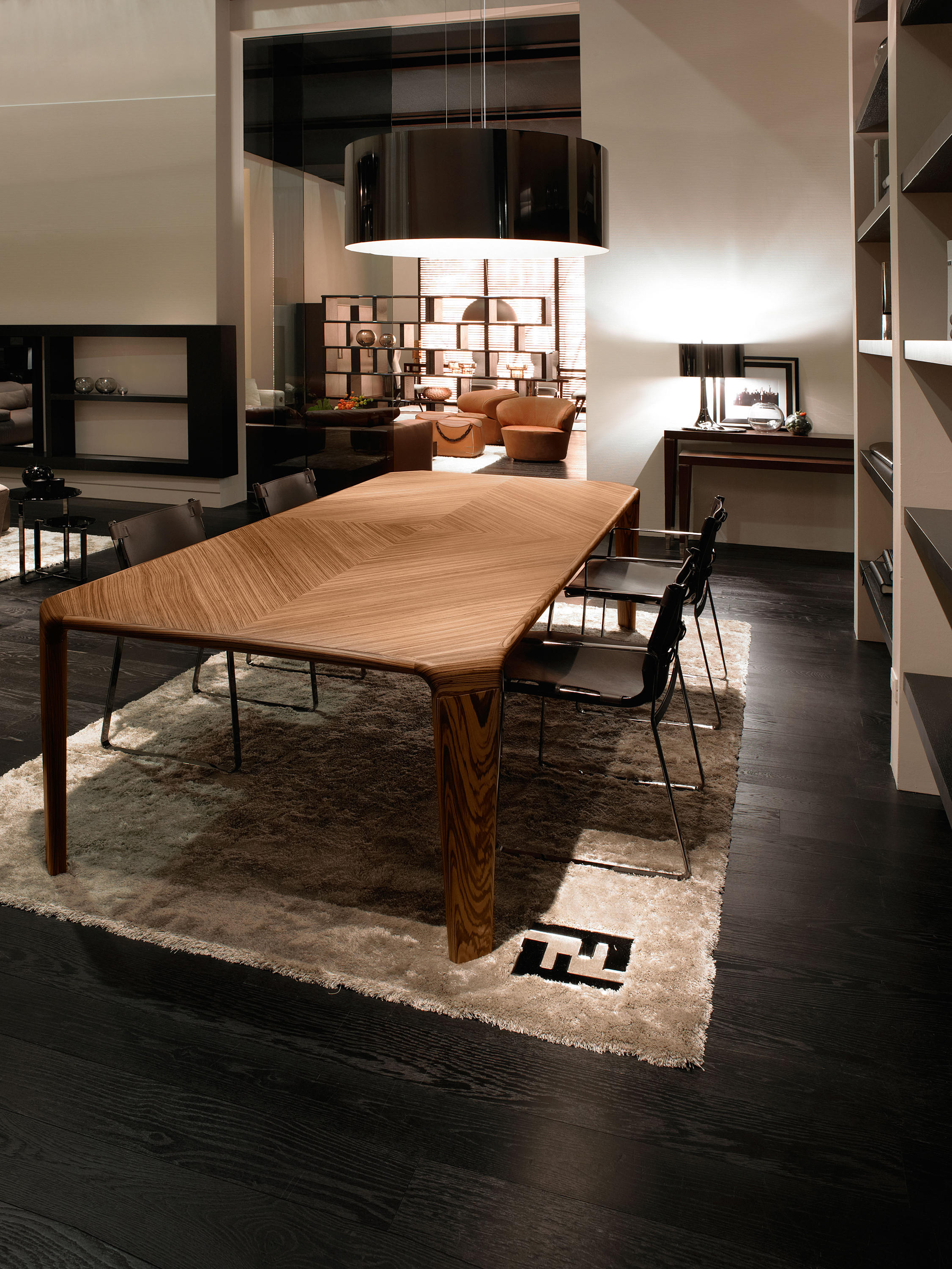 Serengeti Table Dining Tables From Fendi Casa Architonic