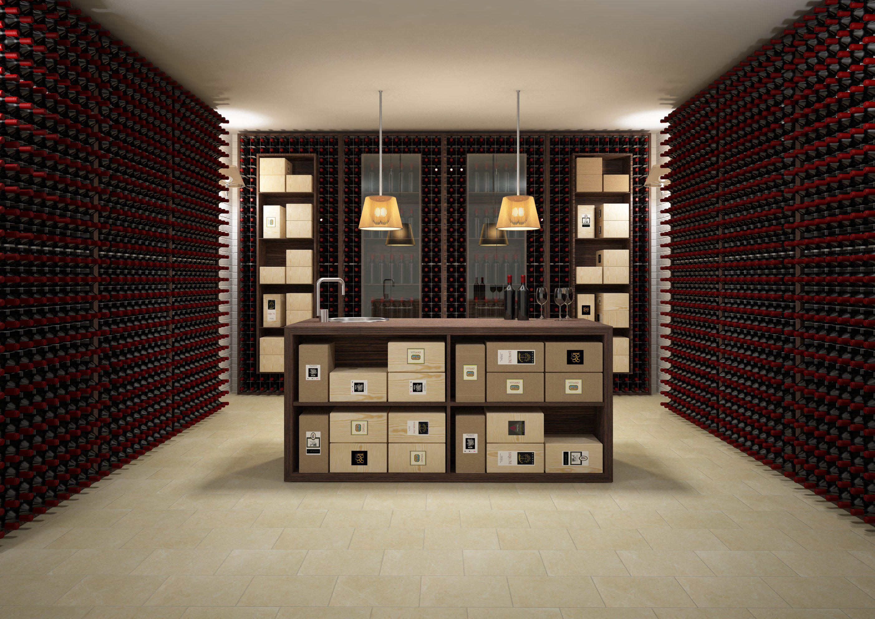 esigo 2 box wine rack wine racks from esigo architonic. Black Bedroom Furniture Sets. Home Design Ideas