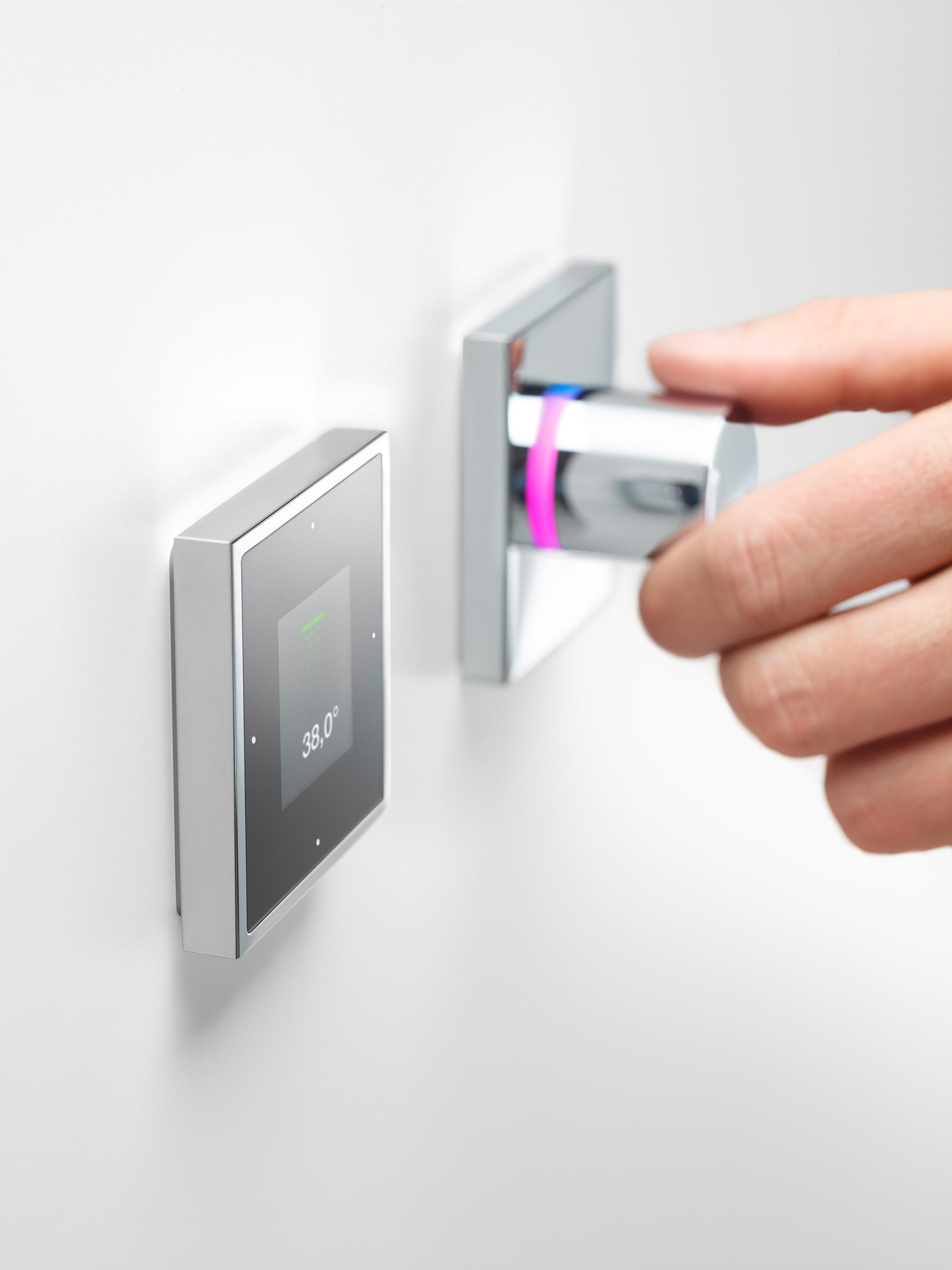 smart water electronic control bathroom taps accessories from