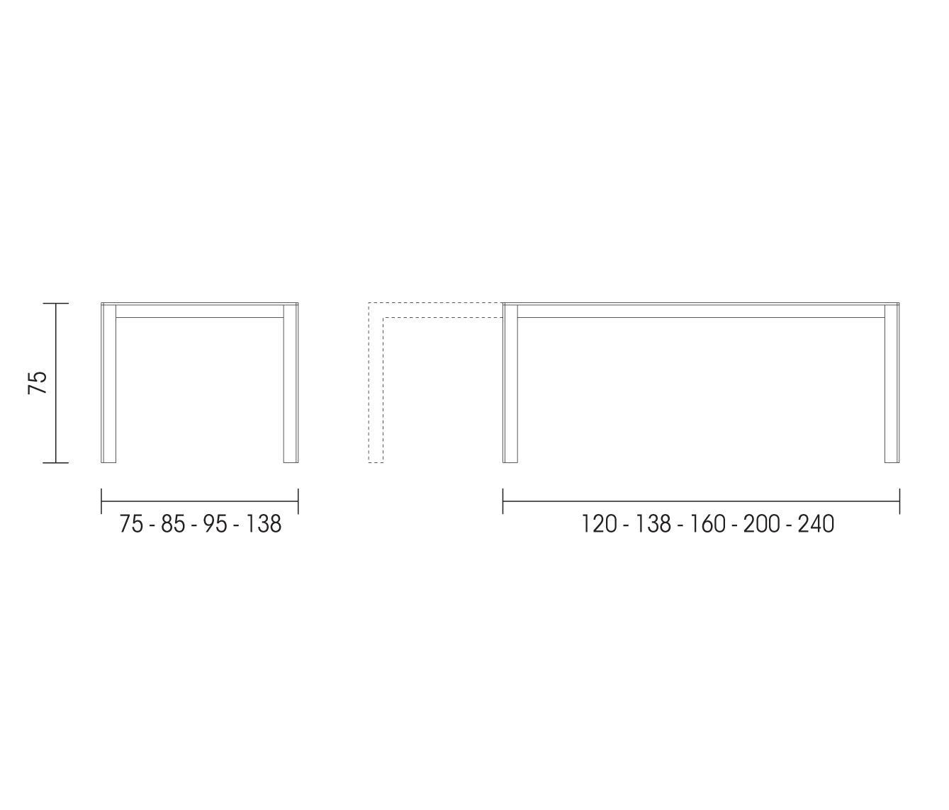 VARABILIS - Tavoli da pranzo AL2698 | Architonic