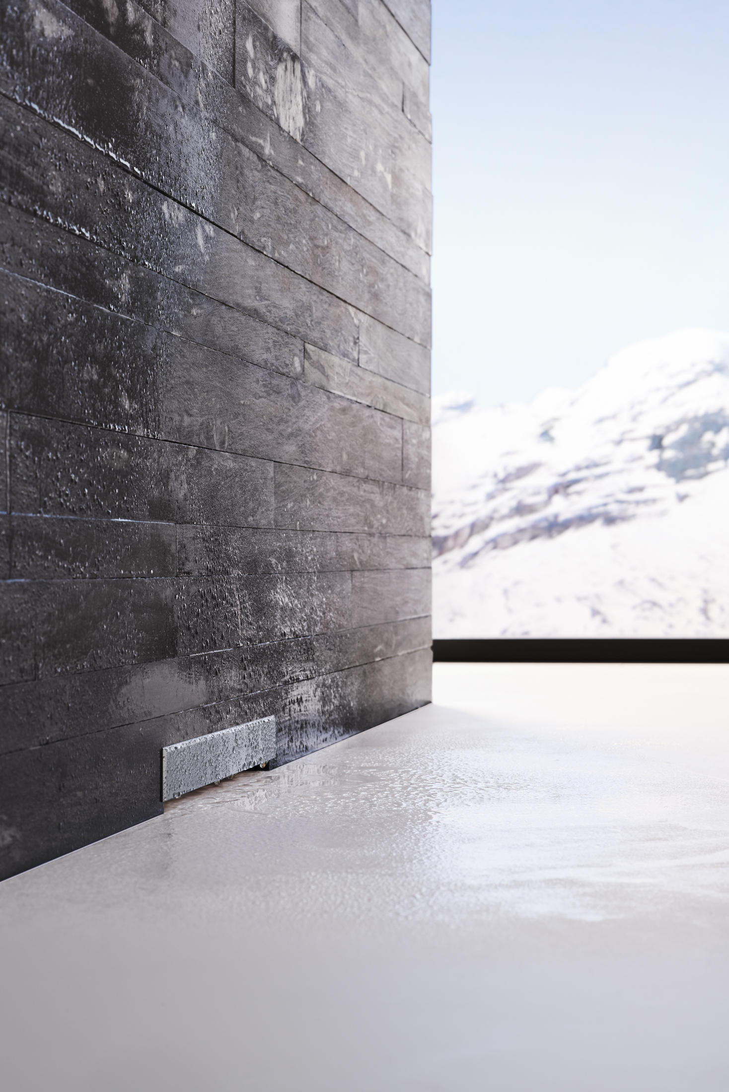 geberit wall drain for showers linear drains from geberit architonic. Black Bedroom Furniture Sets. Home Design Ideas