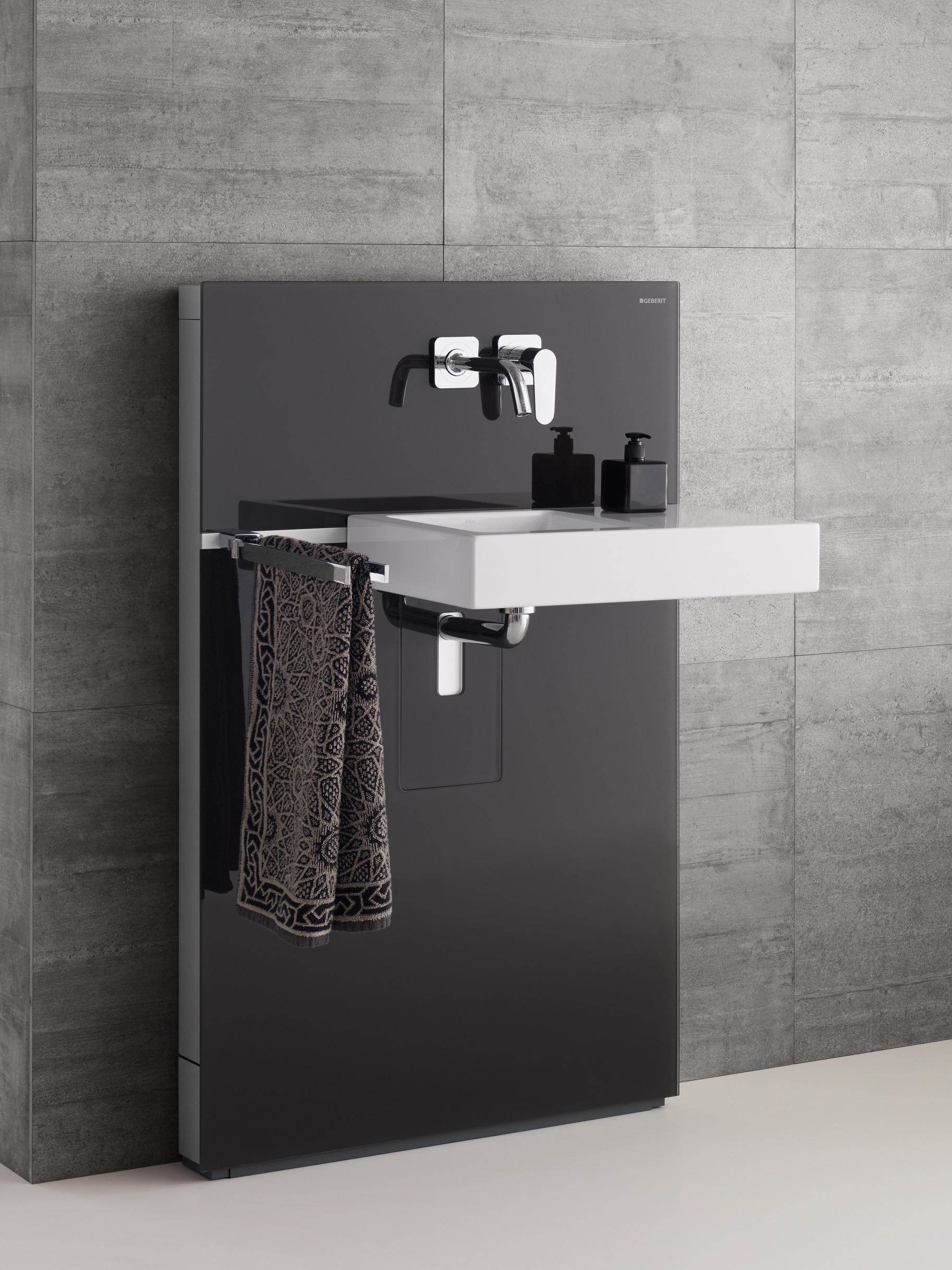 Geberit monolith plus flushes from geberit architonic for Geberit products
