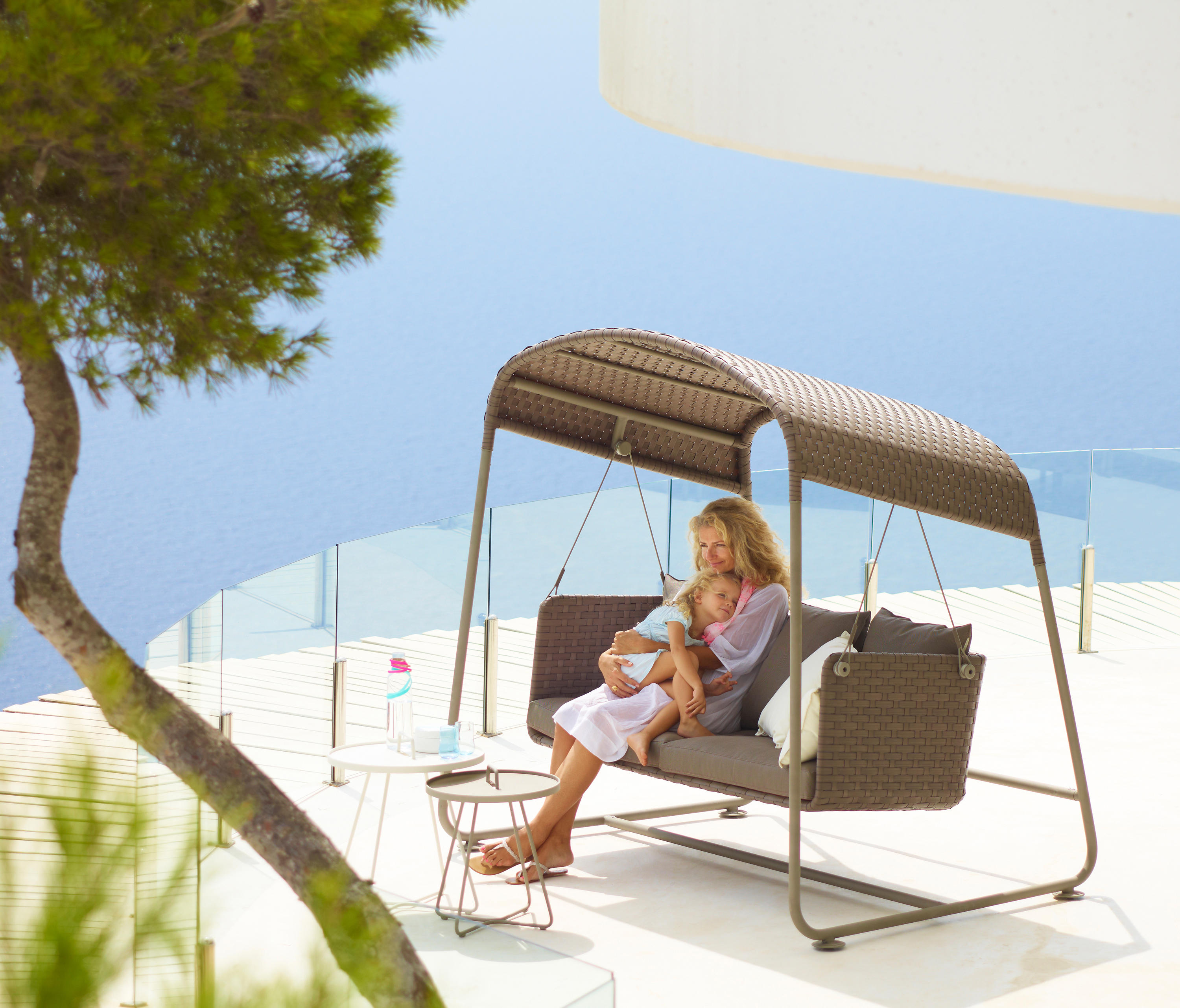 CAVE SWING SOFA TEX Garden sofas from Cane line