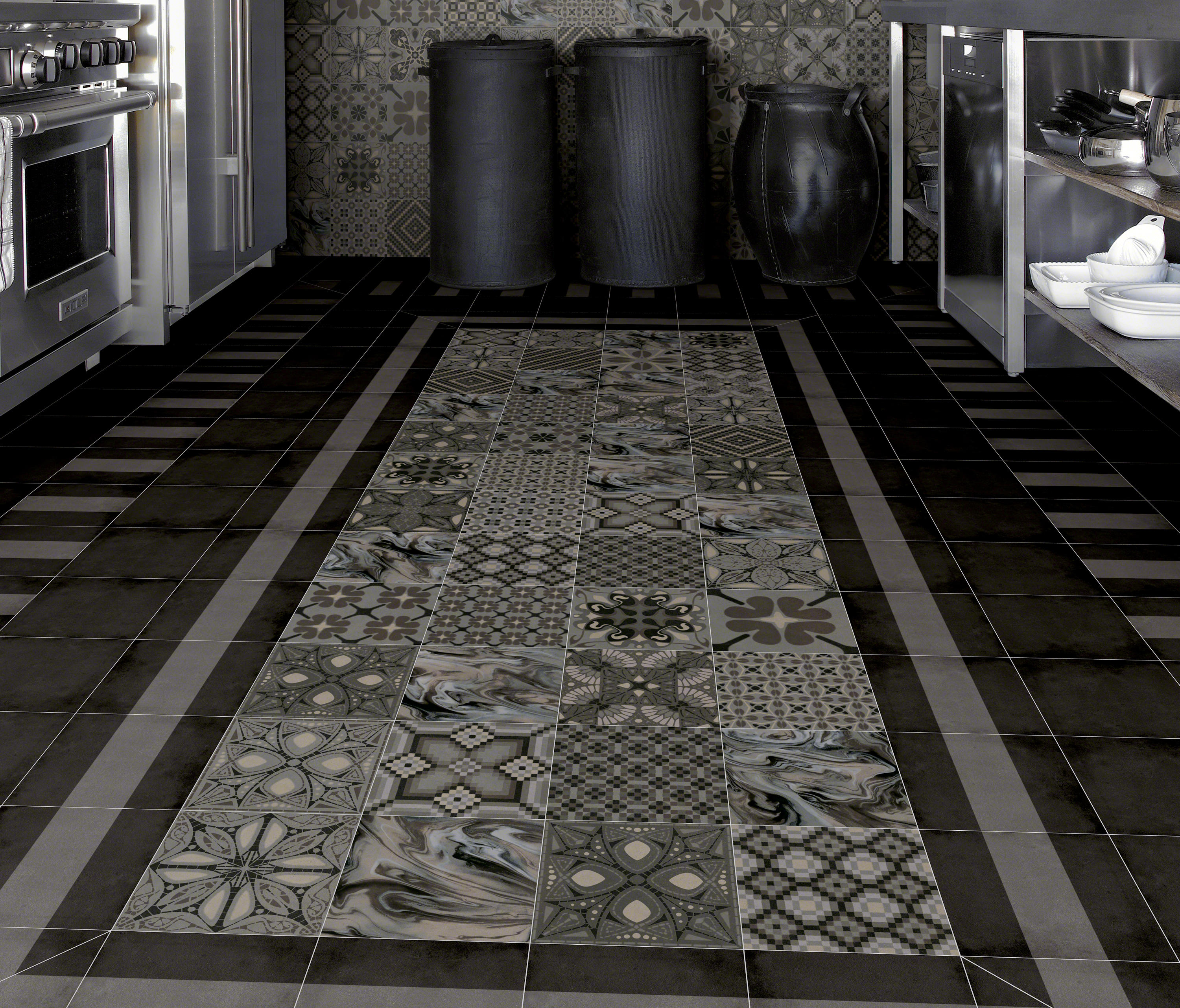 1900 tassel grafito floor tiles from vives cer mica - Vives ceramica ...
