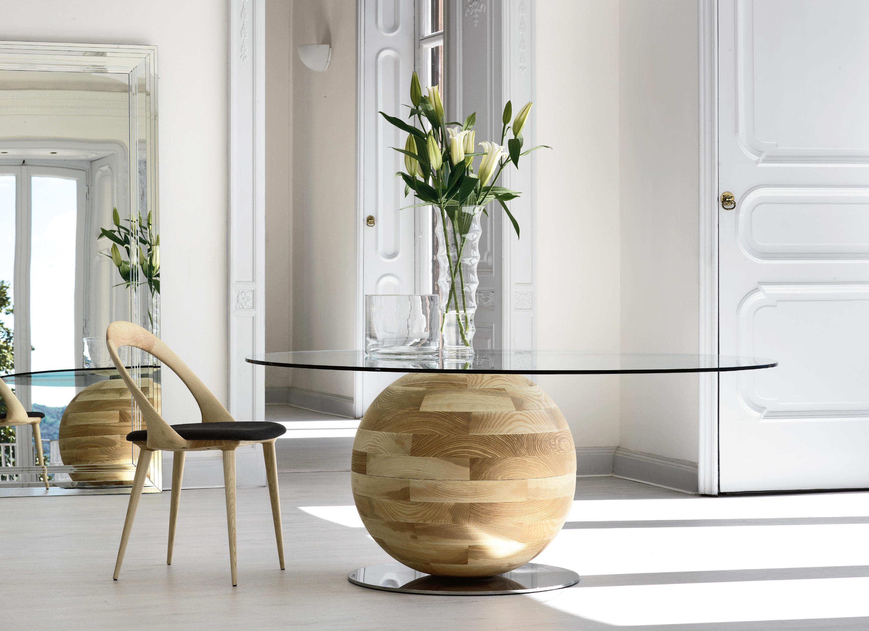 Gheo dining tables from porada architonic - Meuble italien de luxe ...