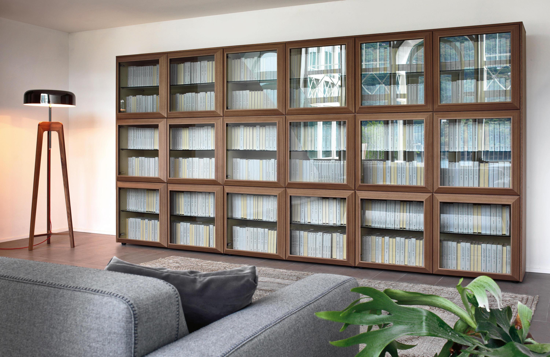 Книжный шкаф porada kvadro comp. f х 2 palazzo mobili.