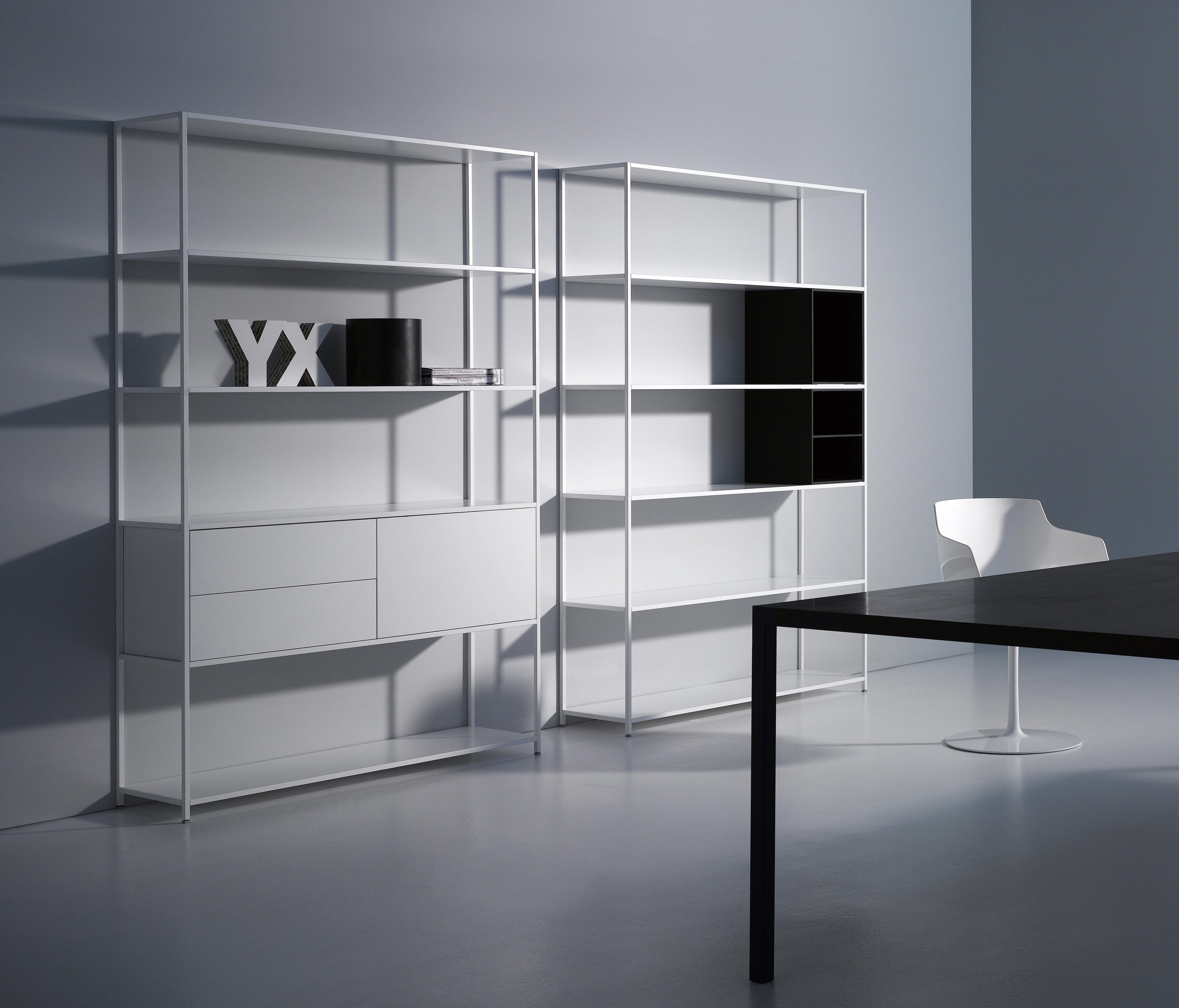 minima 3 0 sistemi scaffale ufficio mdf italia architonic. Black Bedroom Furniture Sets. Home Design Ideas