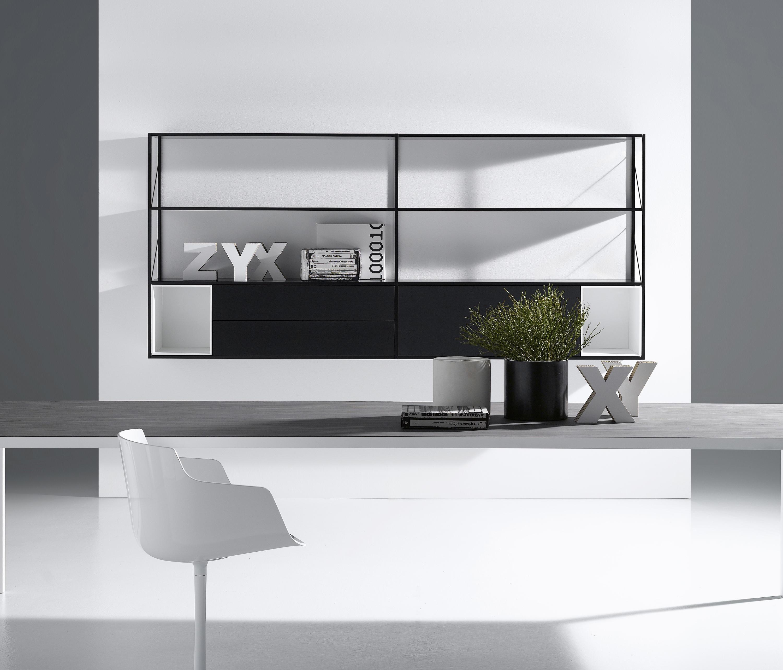 minima 3 0 b roregalsysteme von mdf italia architonic. Black Bedroom Furniture Sets. Home Design Ideas