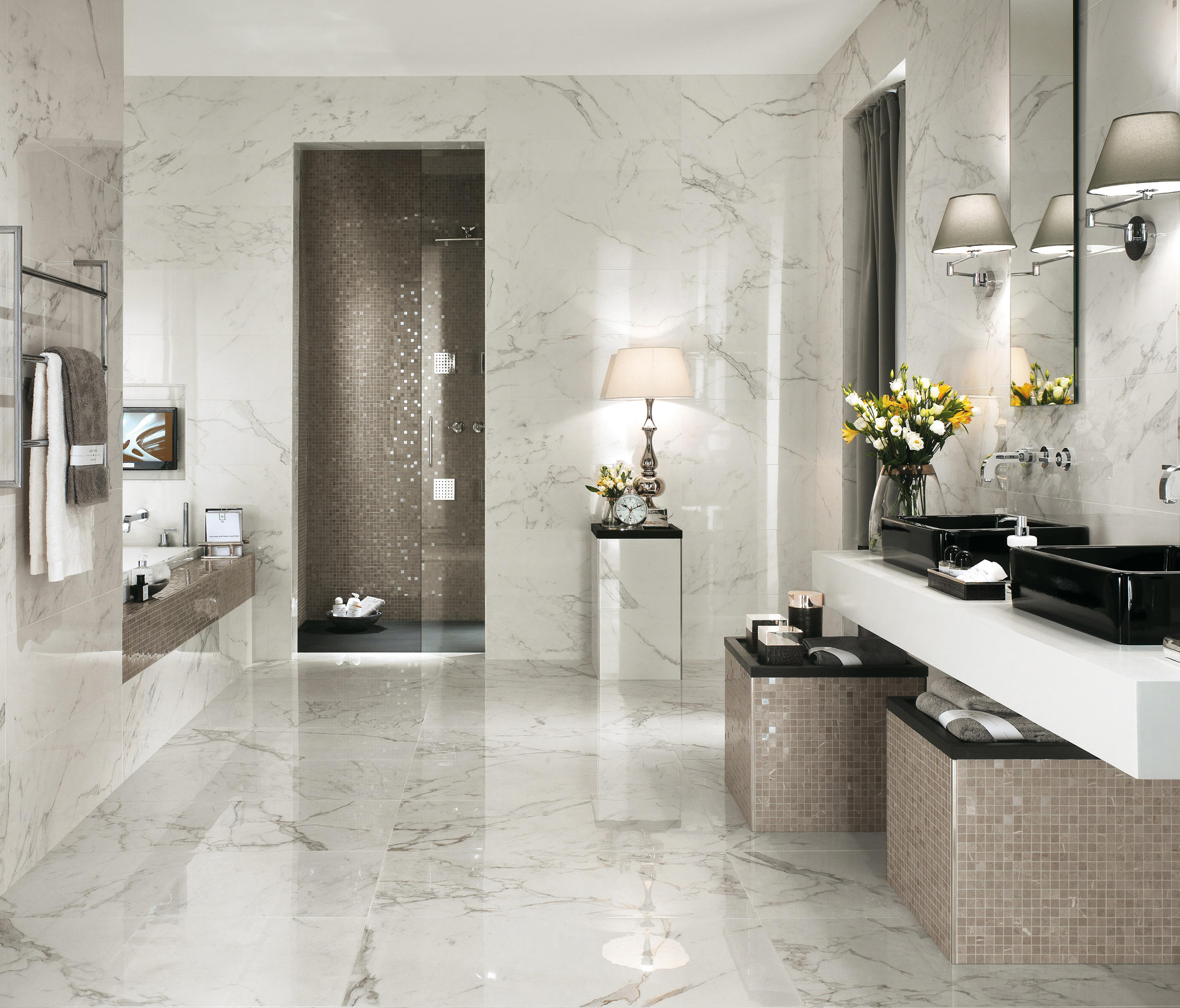 marvel wall calacatta extra ceramic tiles from atlas
