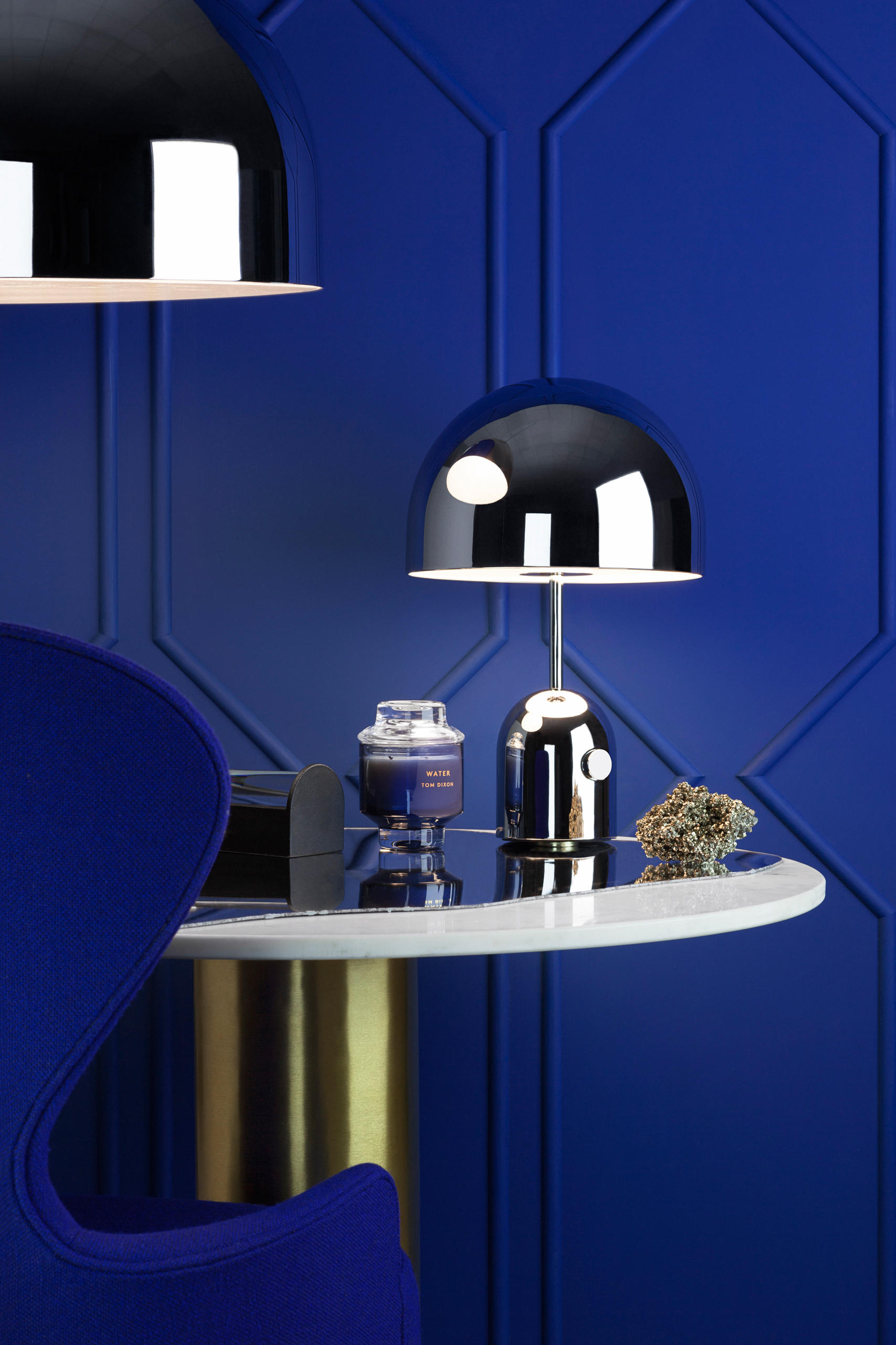 Bell Table Light Chrome Table Lights From Tom Dixon