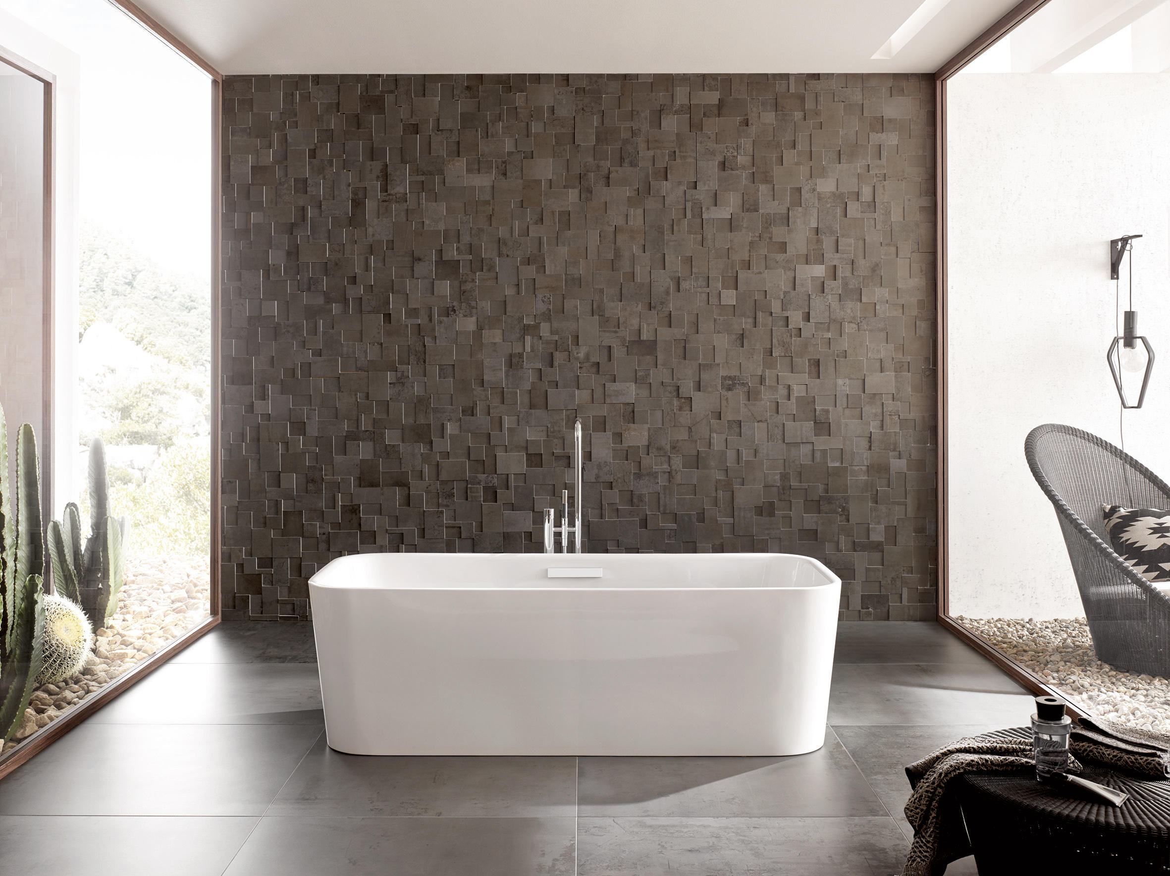betteart monolith wash basins from bette architonic. Black Bedroom Furniture Sets. Home Design Ideas