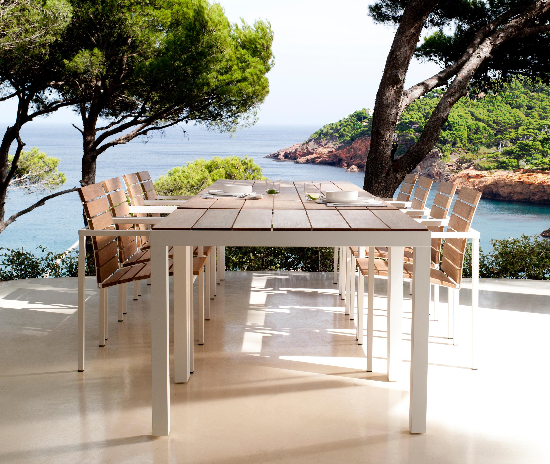 natal alu teak armchair - garden chairs from tribù   architonic, Gartengerate ideen