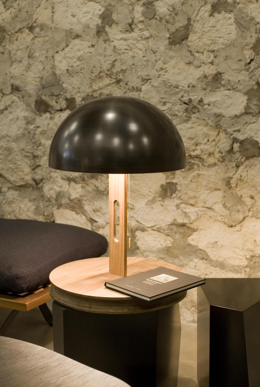 Hiroshima 2 Table Lights From Karen Chekerdjian Architonic