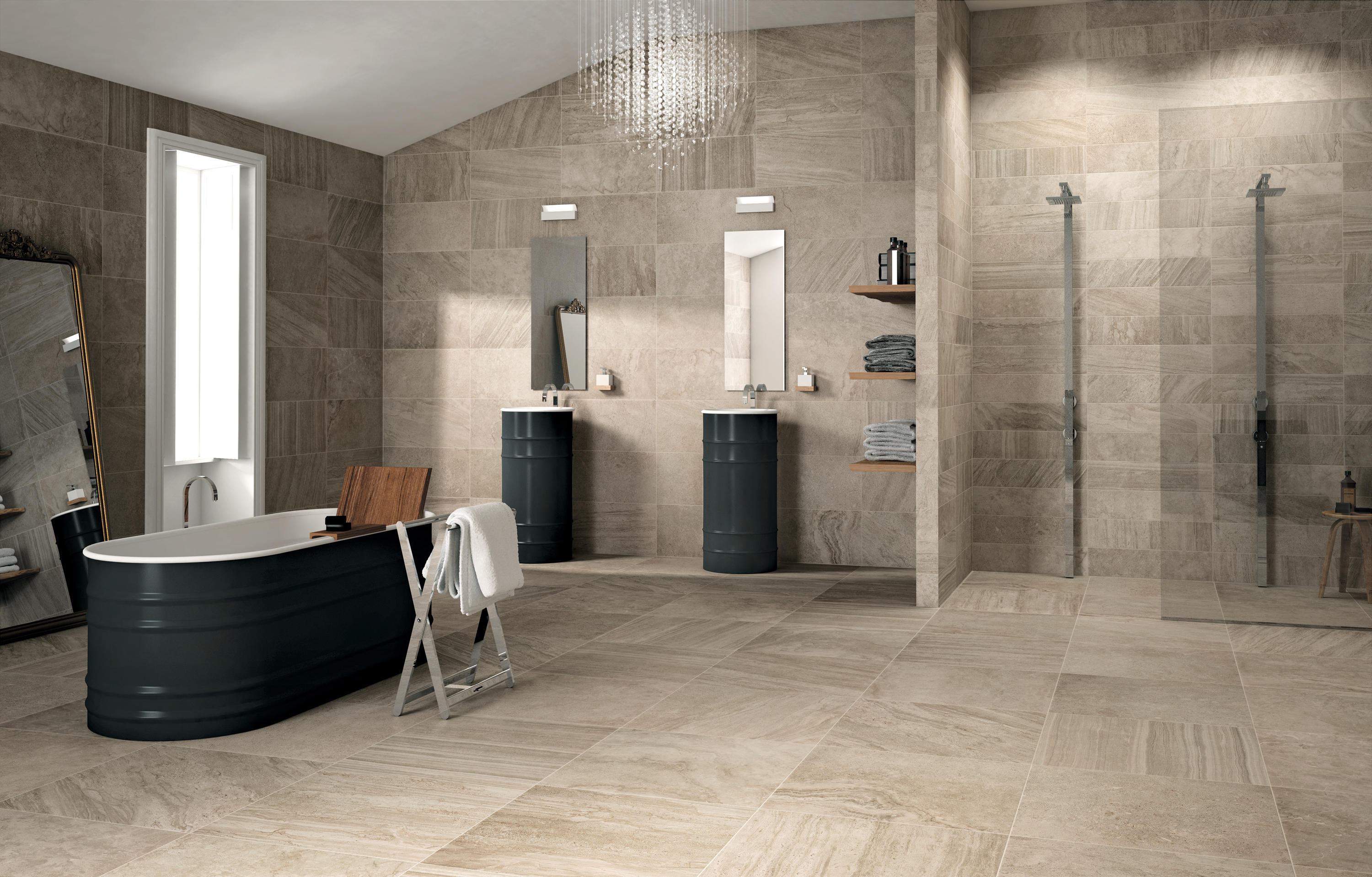 Shell oo 01 ceramic tiles from mirage architonic for Design del bagno