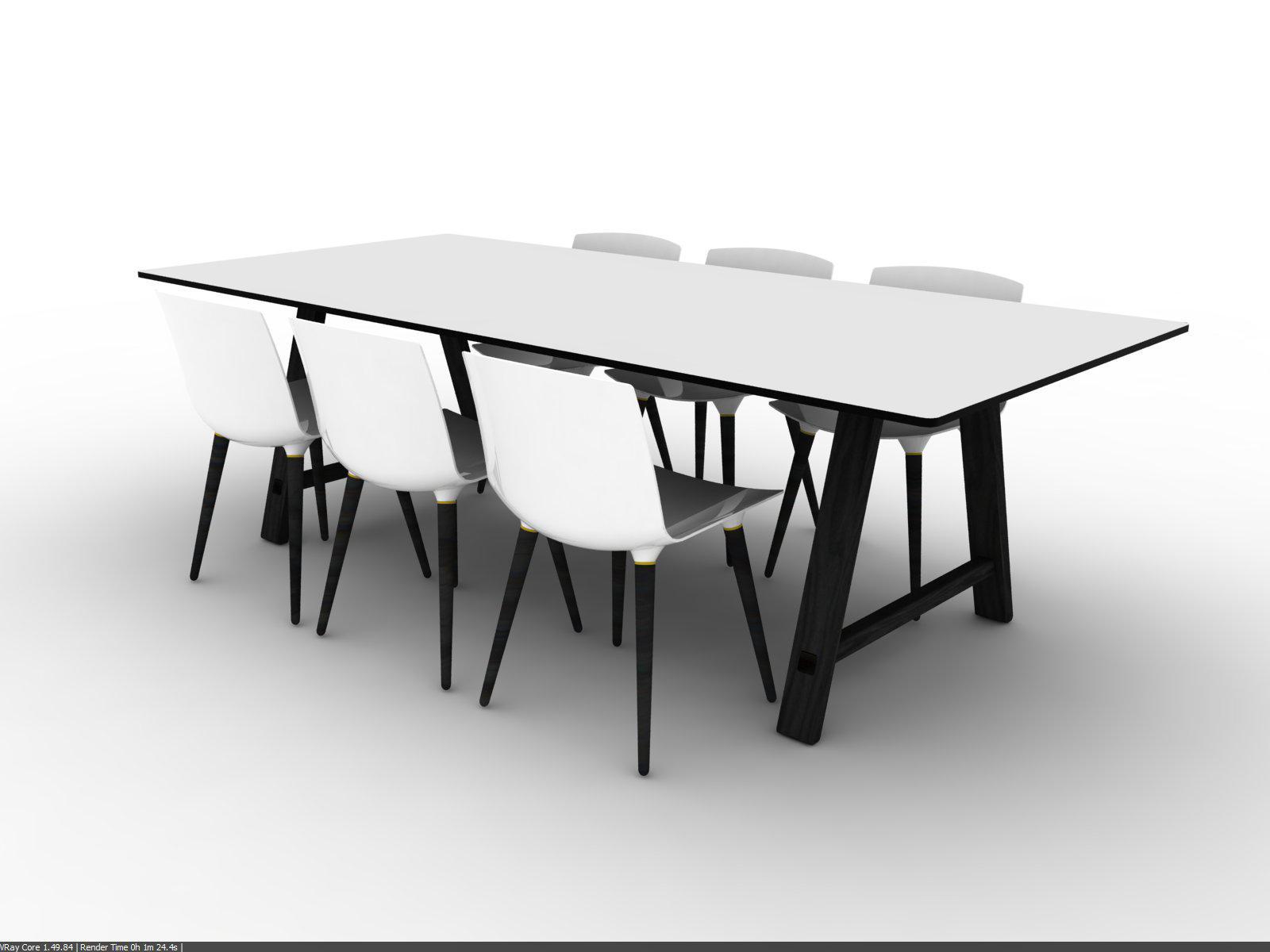 Bykato Meeting Table By Brodrene Andersen