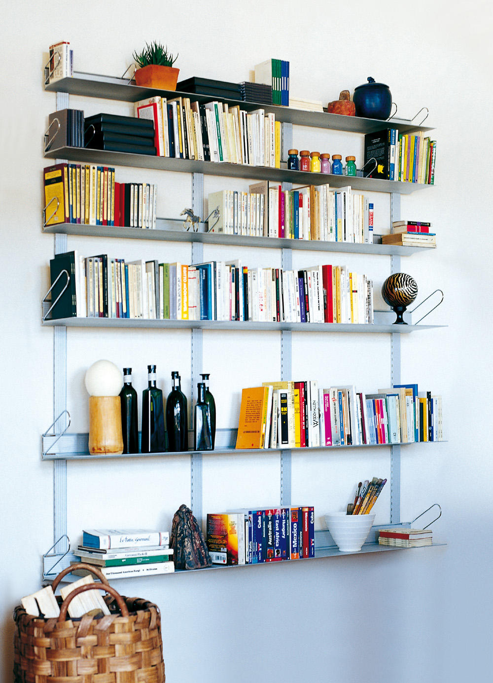 Libreria Trieste Enzo Mari teca - shelving from rexite   architonic
