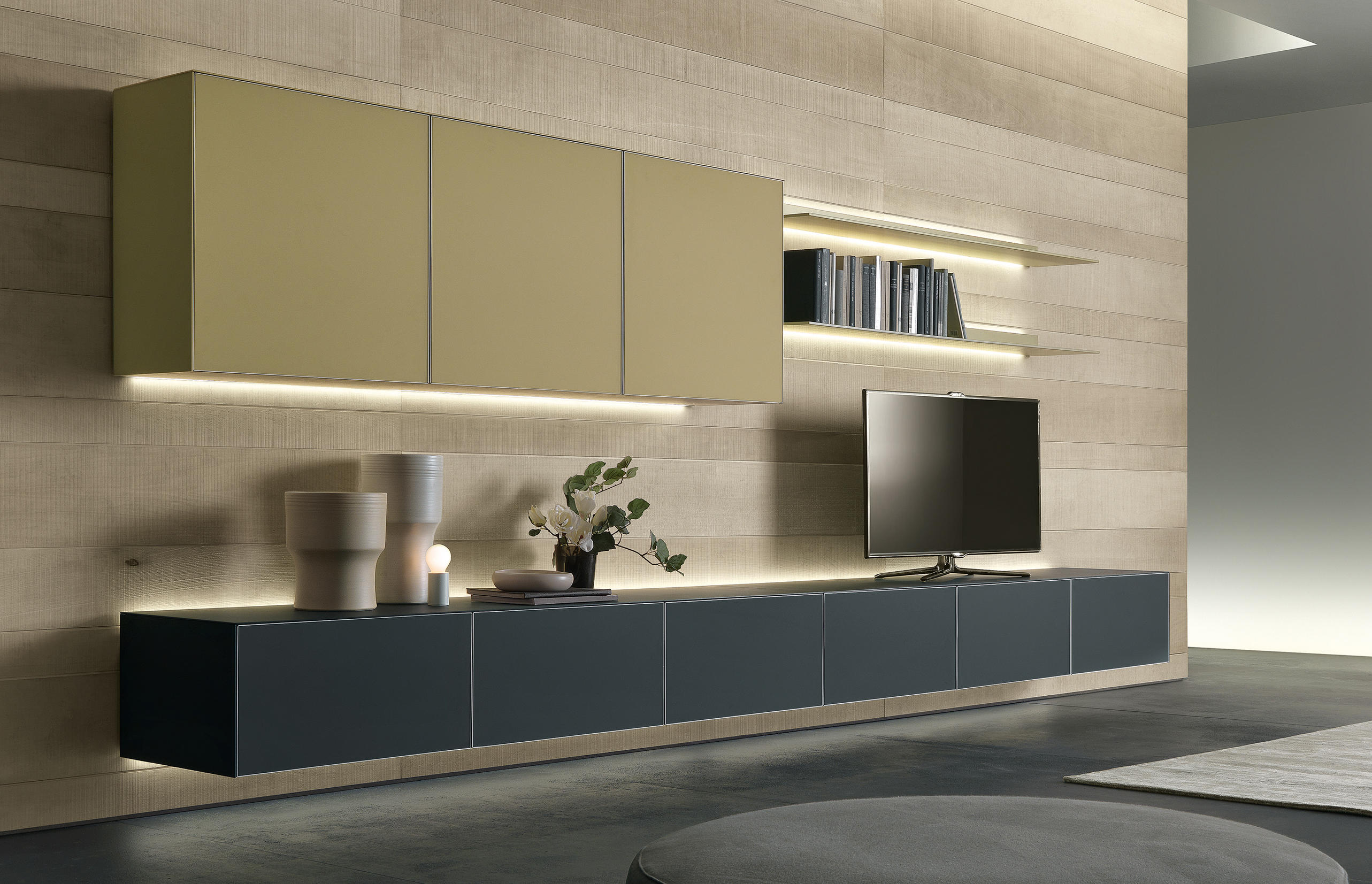 self sideboards from rimadesio architonic. Black Bedroom Furniture Sets. Home Design Ideas