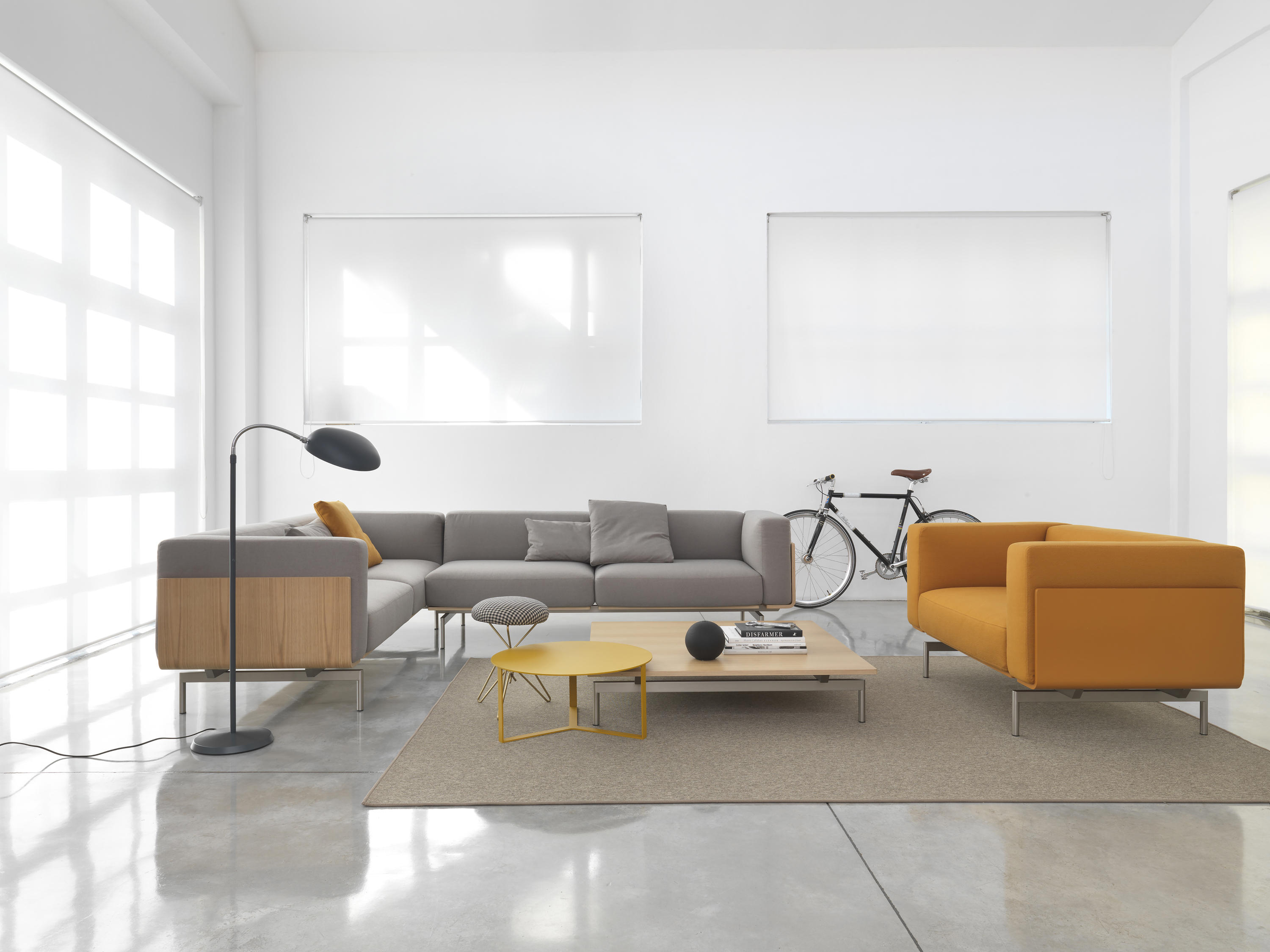 L SOFA Lounge chairs from Giulio Marelli