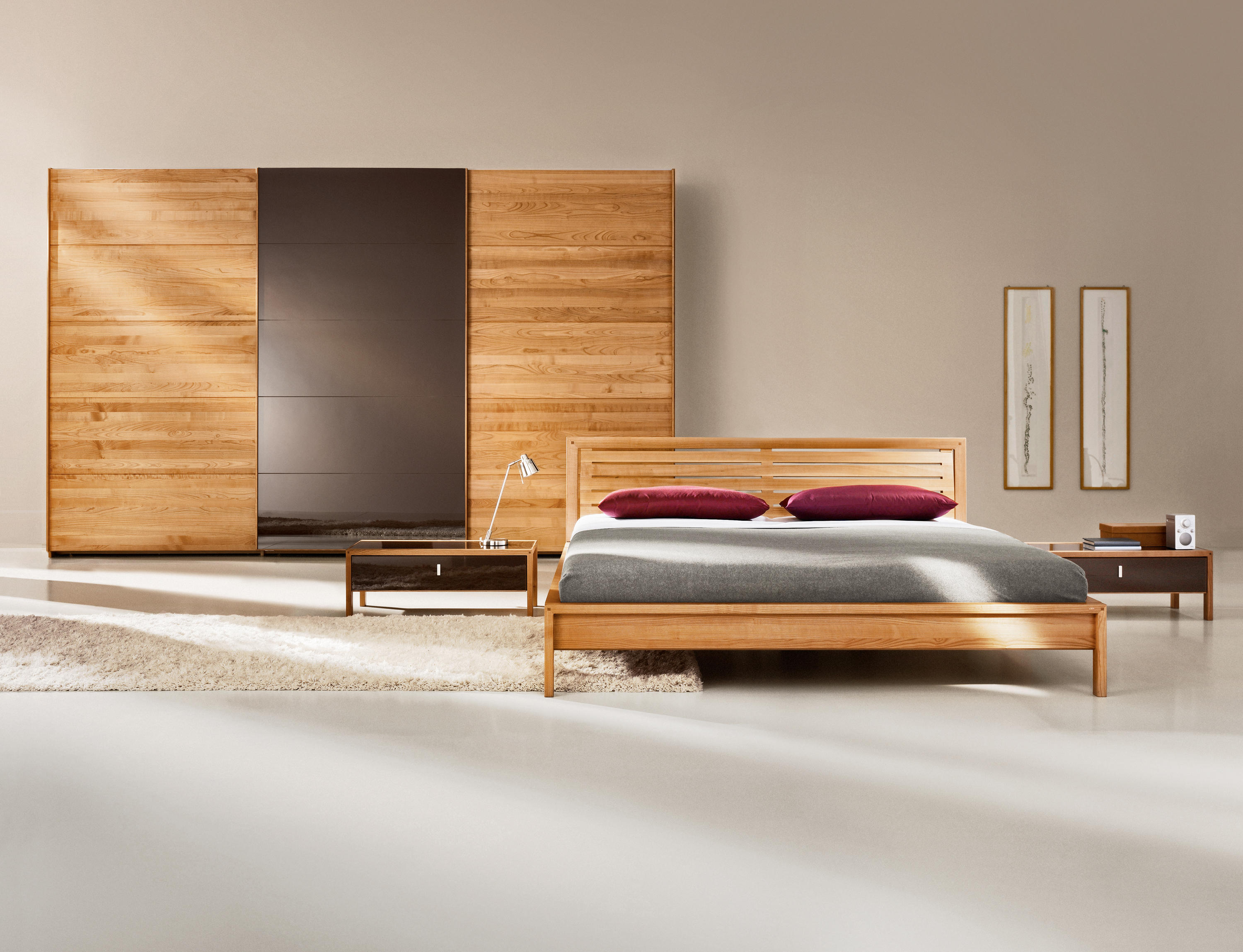 valore bett doppelbetten von team 7 architonic. Black Bedroom Furniture Sets. Home Design Ideas