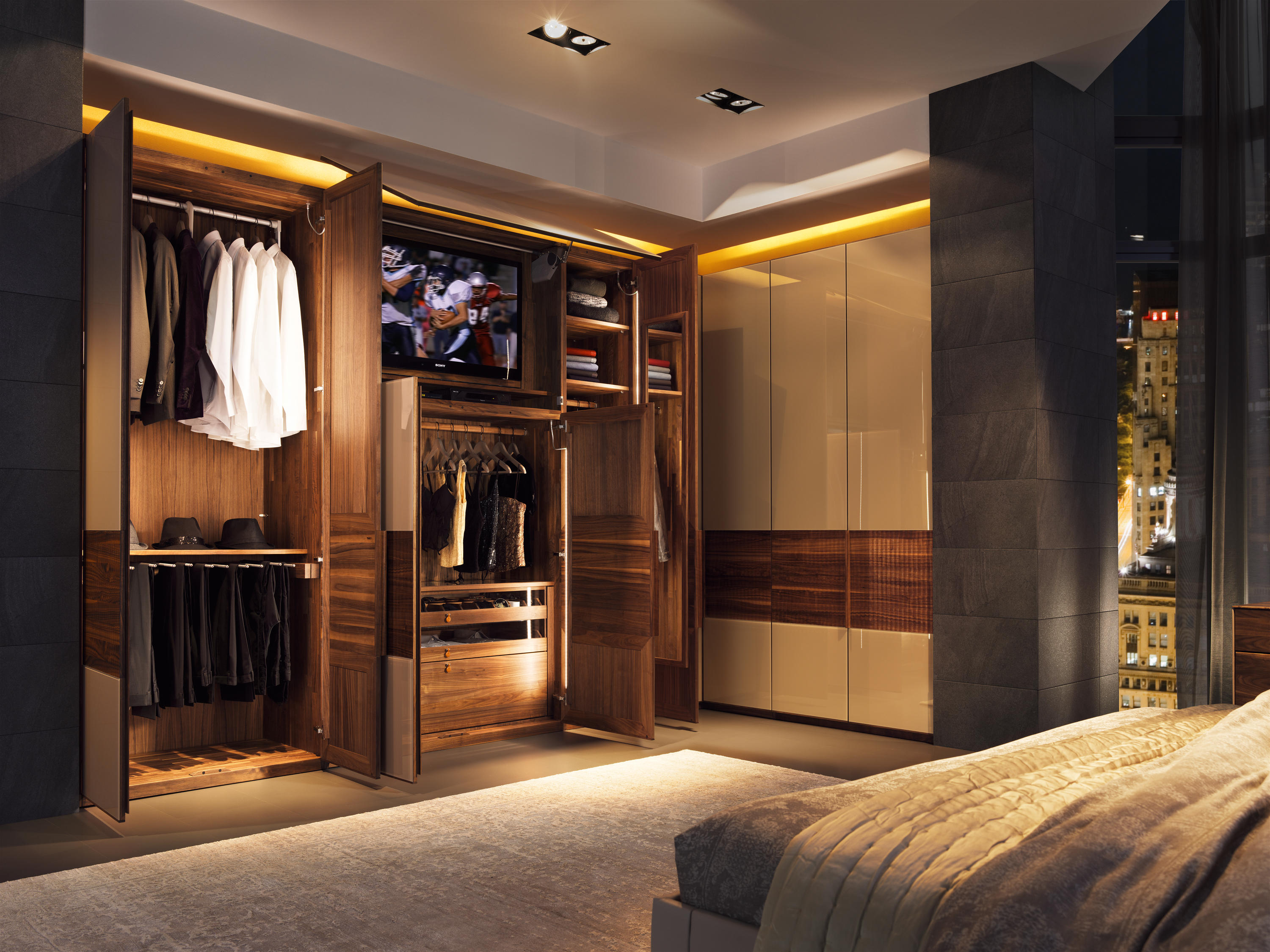 Valore Relief Wardrobe System Built In Cupboards From
