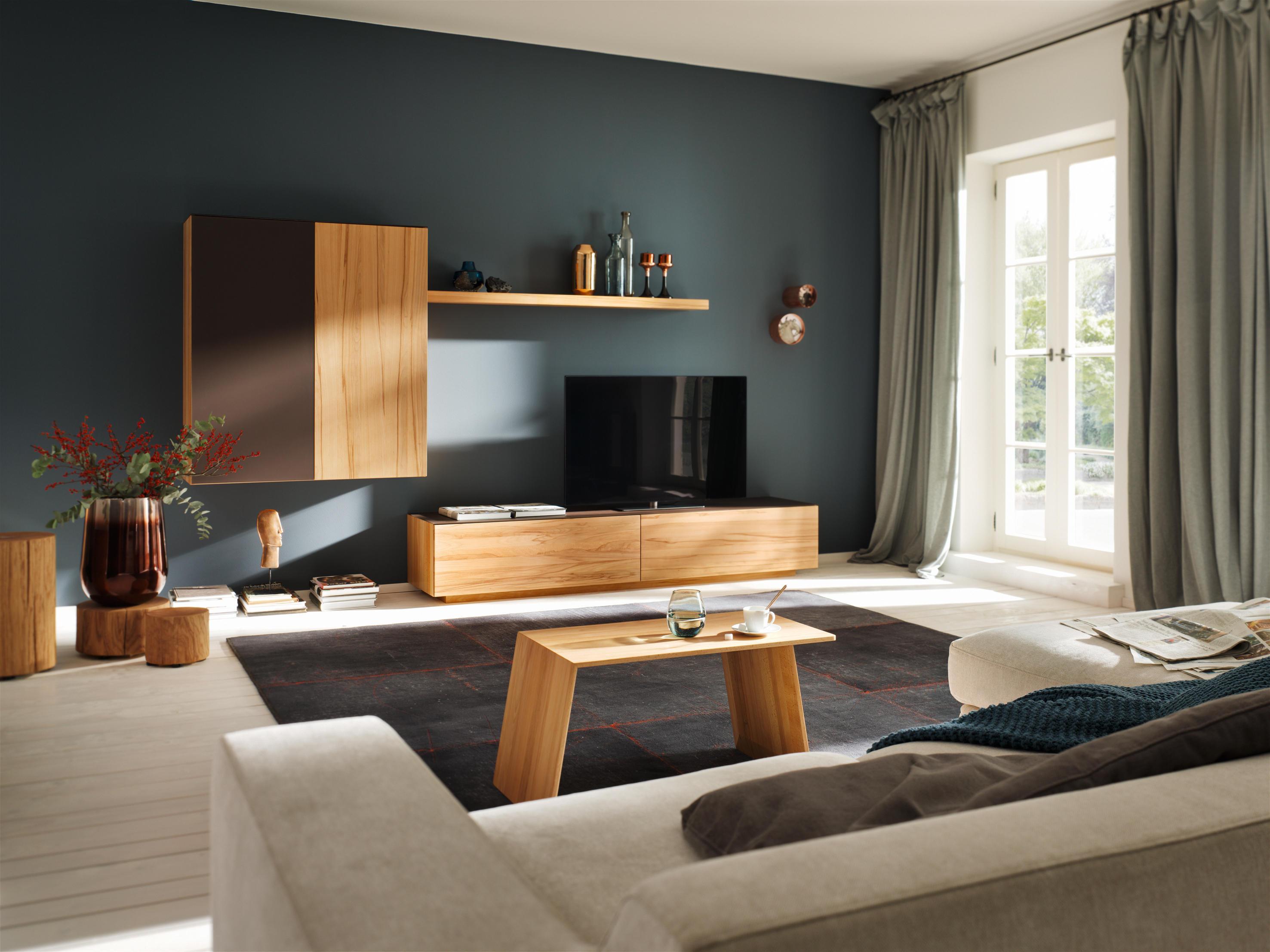 Frisch Wandfarbe Wohnzimmer Graues sofa Schema