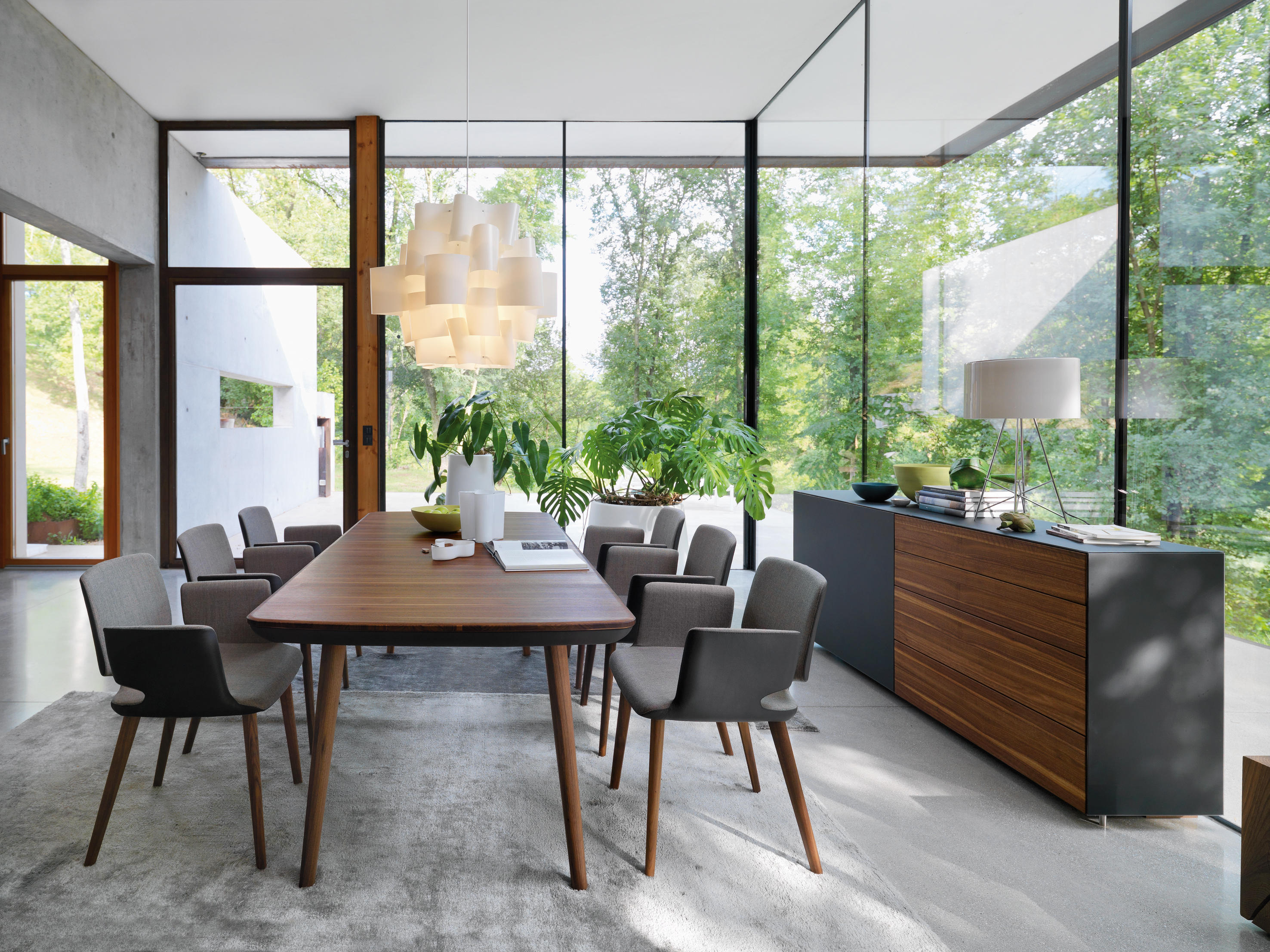 flaye extension table dining tables from team 7 architonic. Black Bedroom Furniture Sets. Home Design Ideas