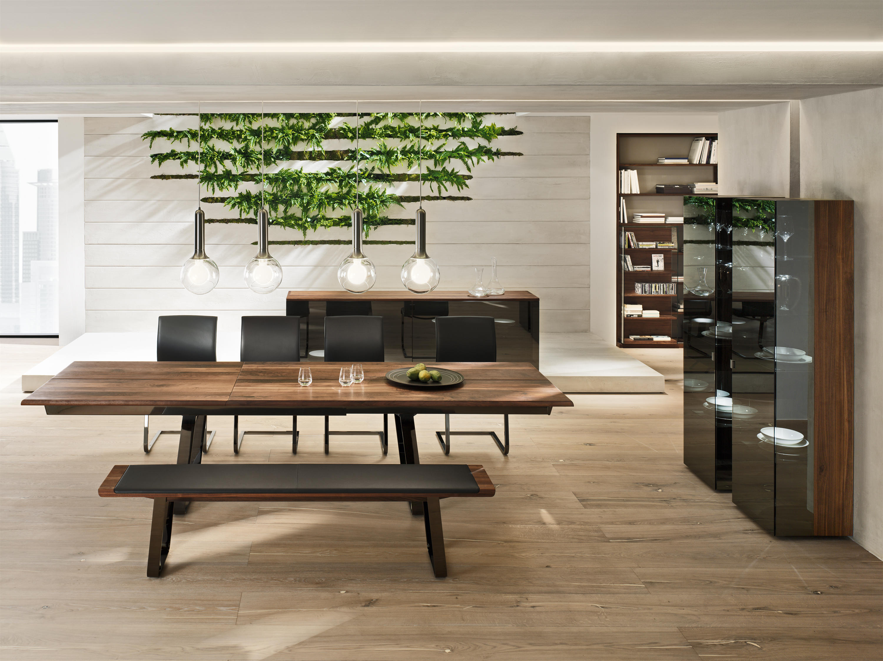 nox bench benches from team 7 architonic. Black Bedroom Furniture Sets. Home Design Ideas