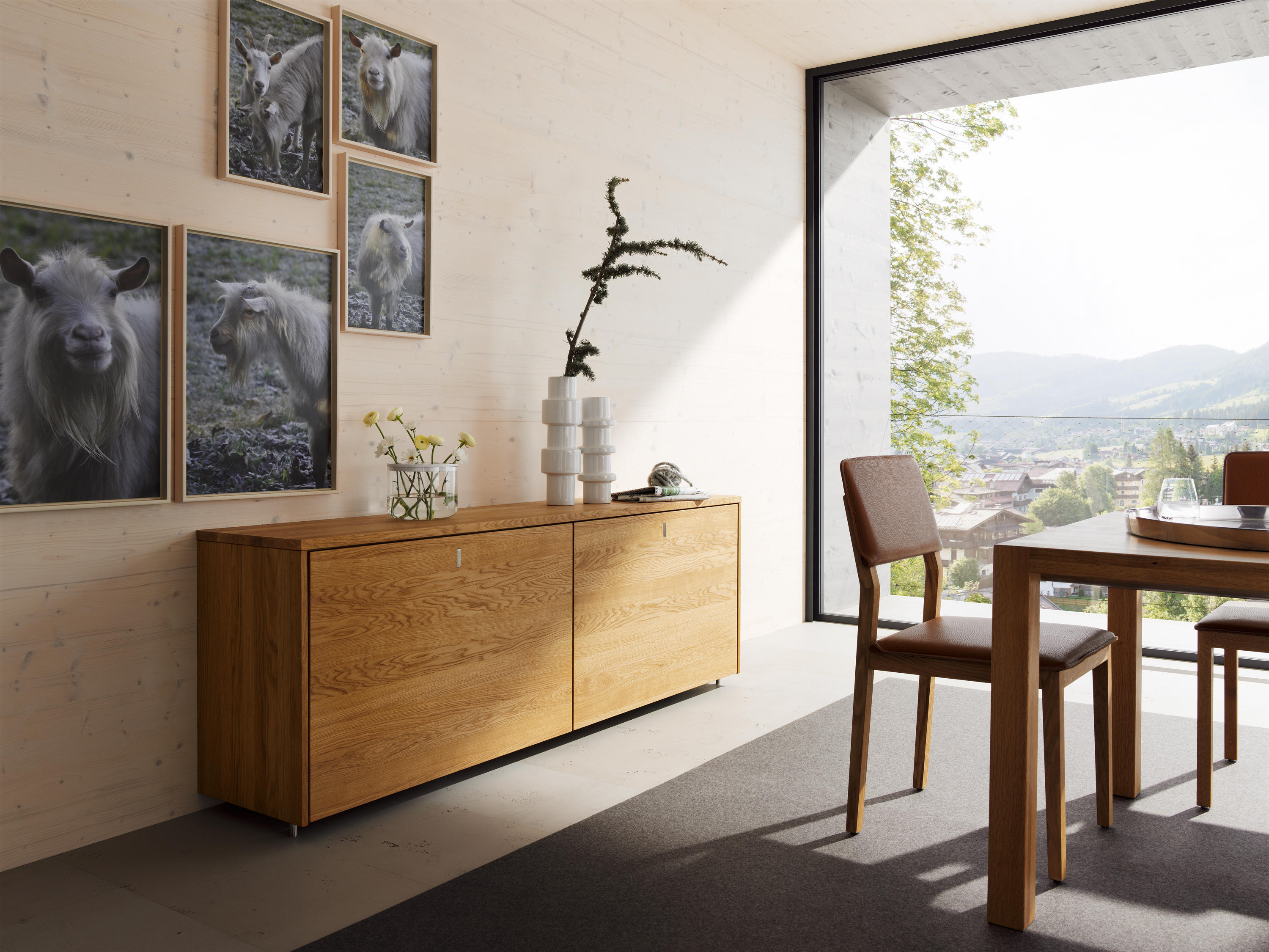 cubus anrichte sideboards kommoden von team 7 architonic. Black Bedroom Furniture Sets. Home Design Ideas
