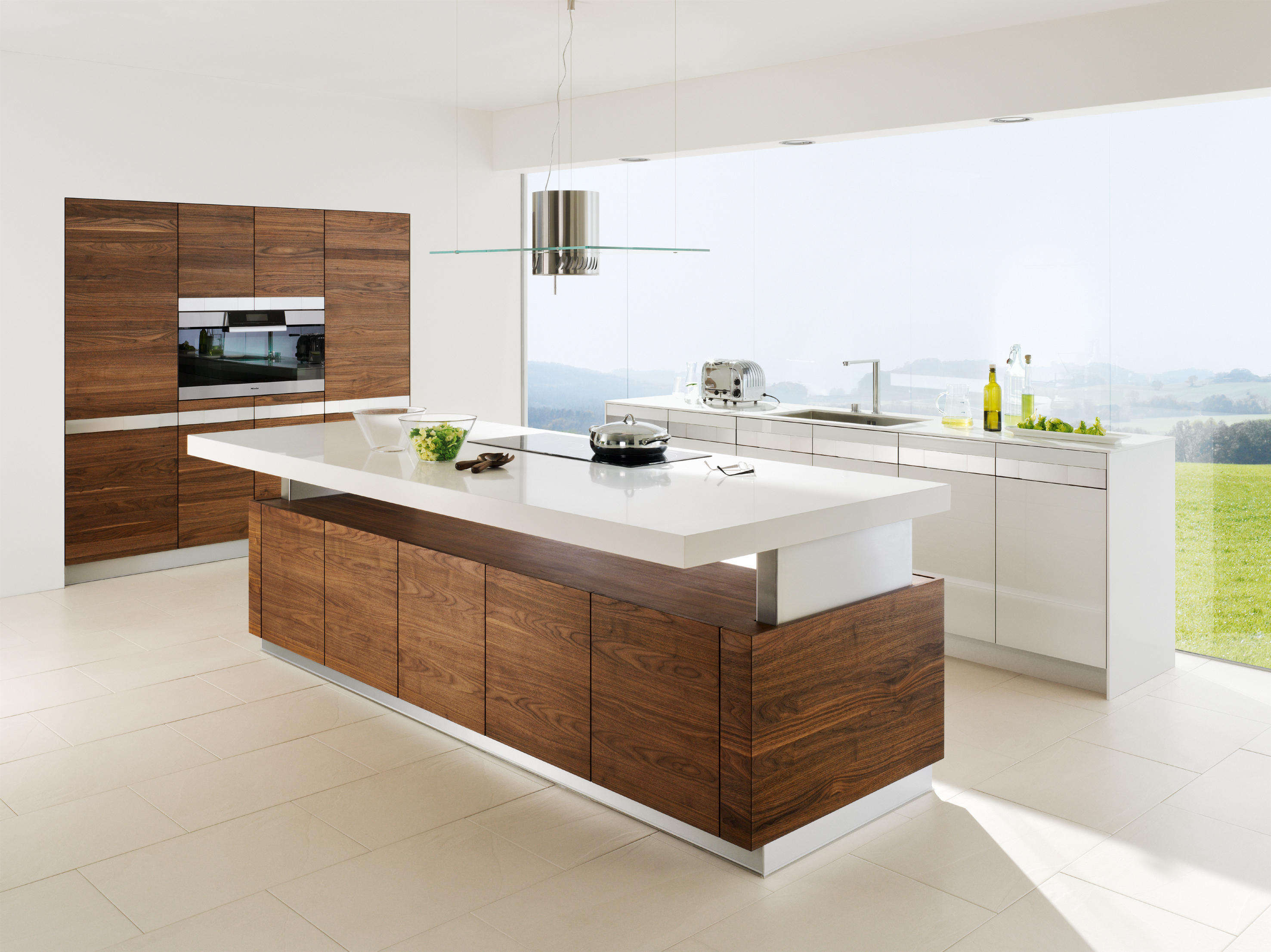 k7 cooking island - island kitchens from team 7 | architonic