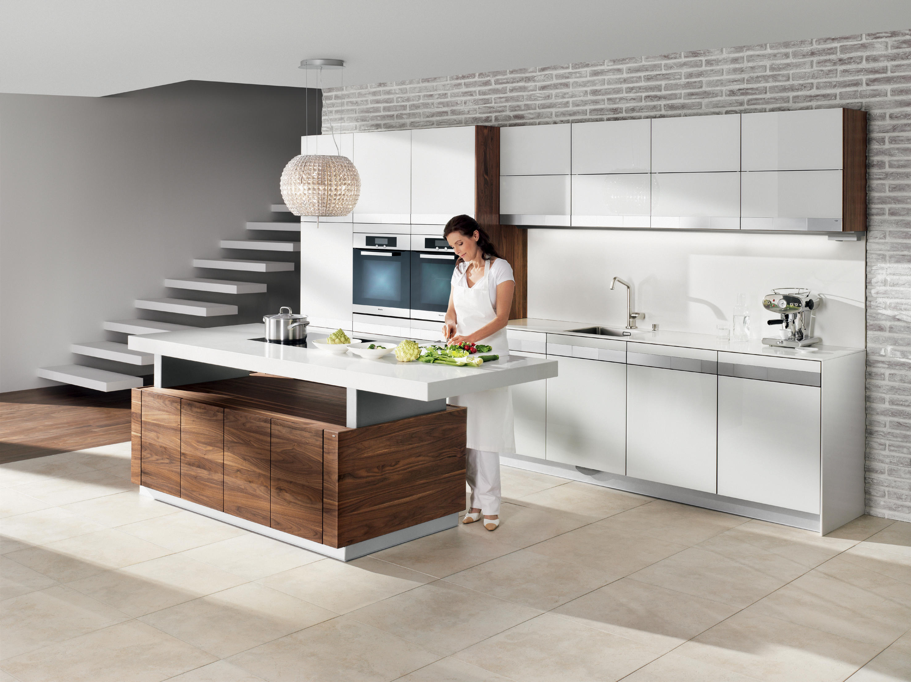 k7 cooking island island kitchens from team 7 architonic. Black Bedroom Furniture Sets. Home Design Ideas