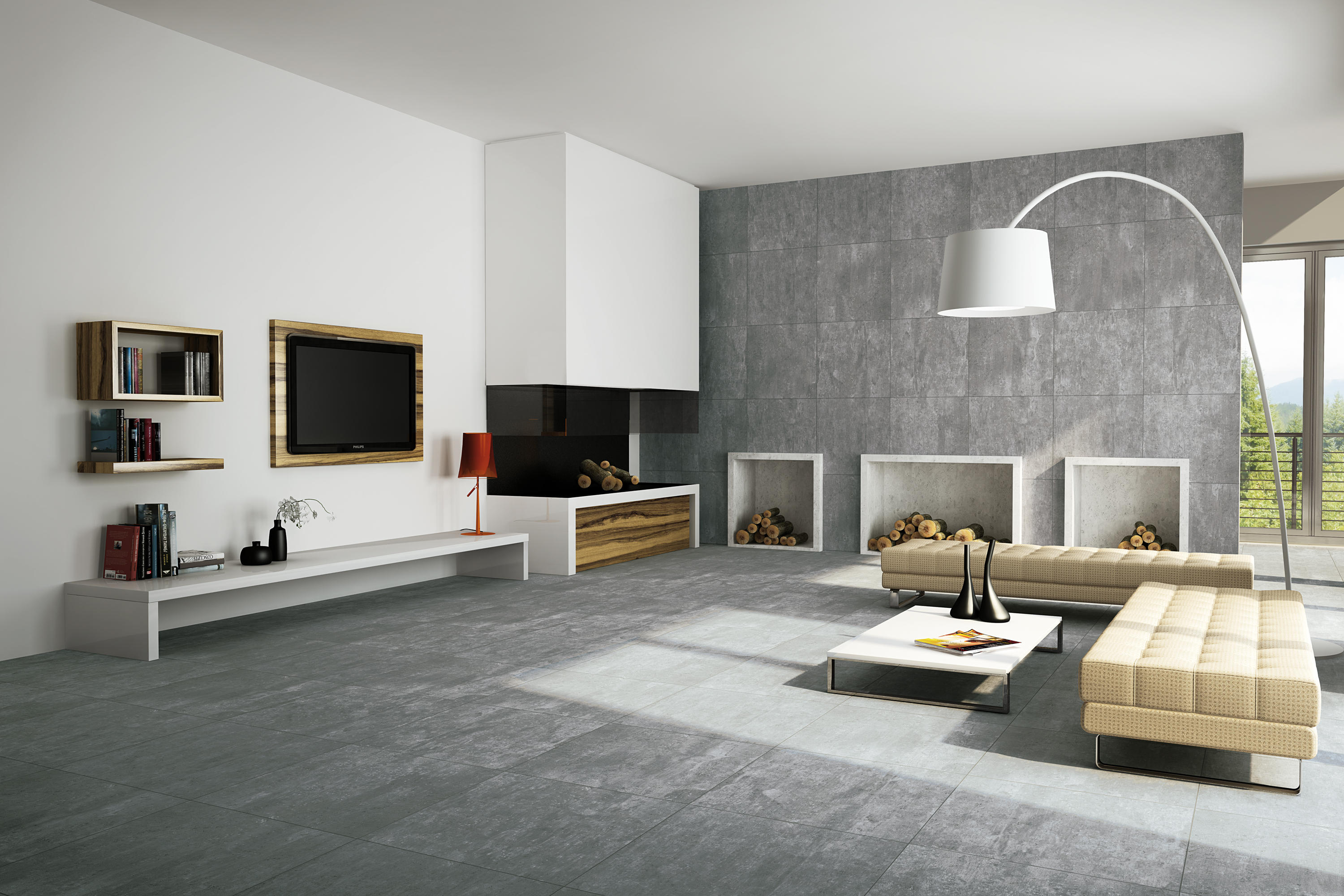 just cementi white keramik fliesen von porcelaingres architonic. Black Bedroom Furniture Sets. Home Design Ideas